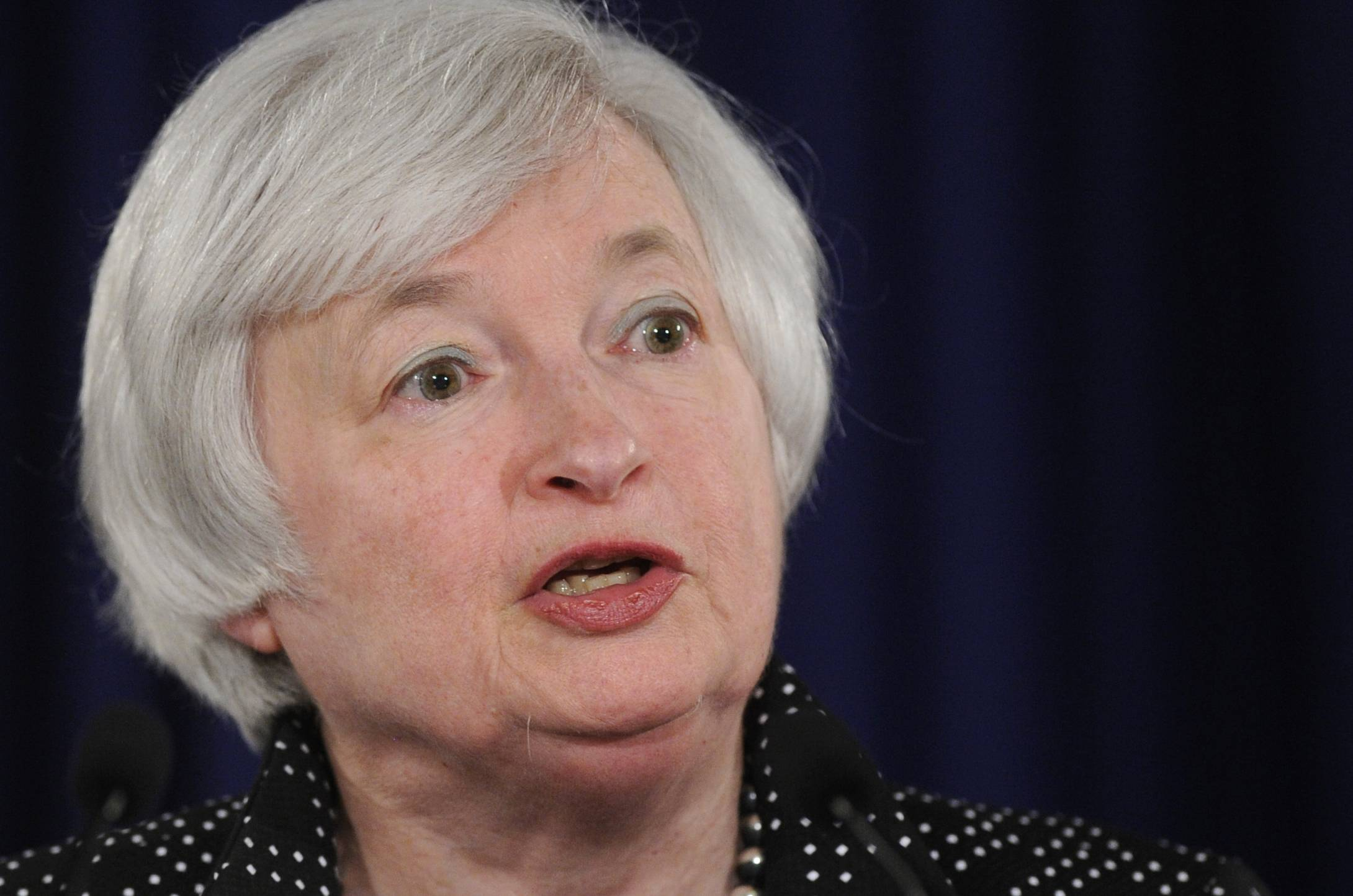 Federal Reserve Chair Janet Yellen said Friday that the Great Recession complicated the Fed's ability to assess the U.S. job market and made it harder to determine when to adjust interest rates.