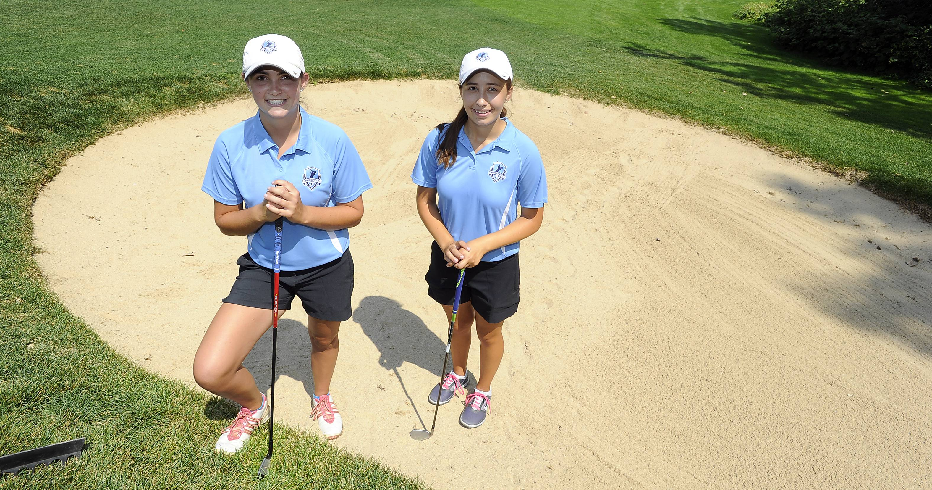 Defending state champ Prospect is looking to extend its recent string of excellent seasons with Isabella Flack, right, and Kacie O'Donnell.
