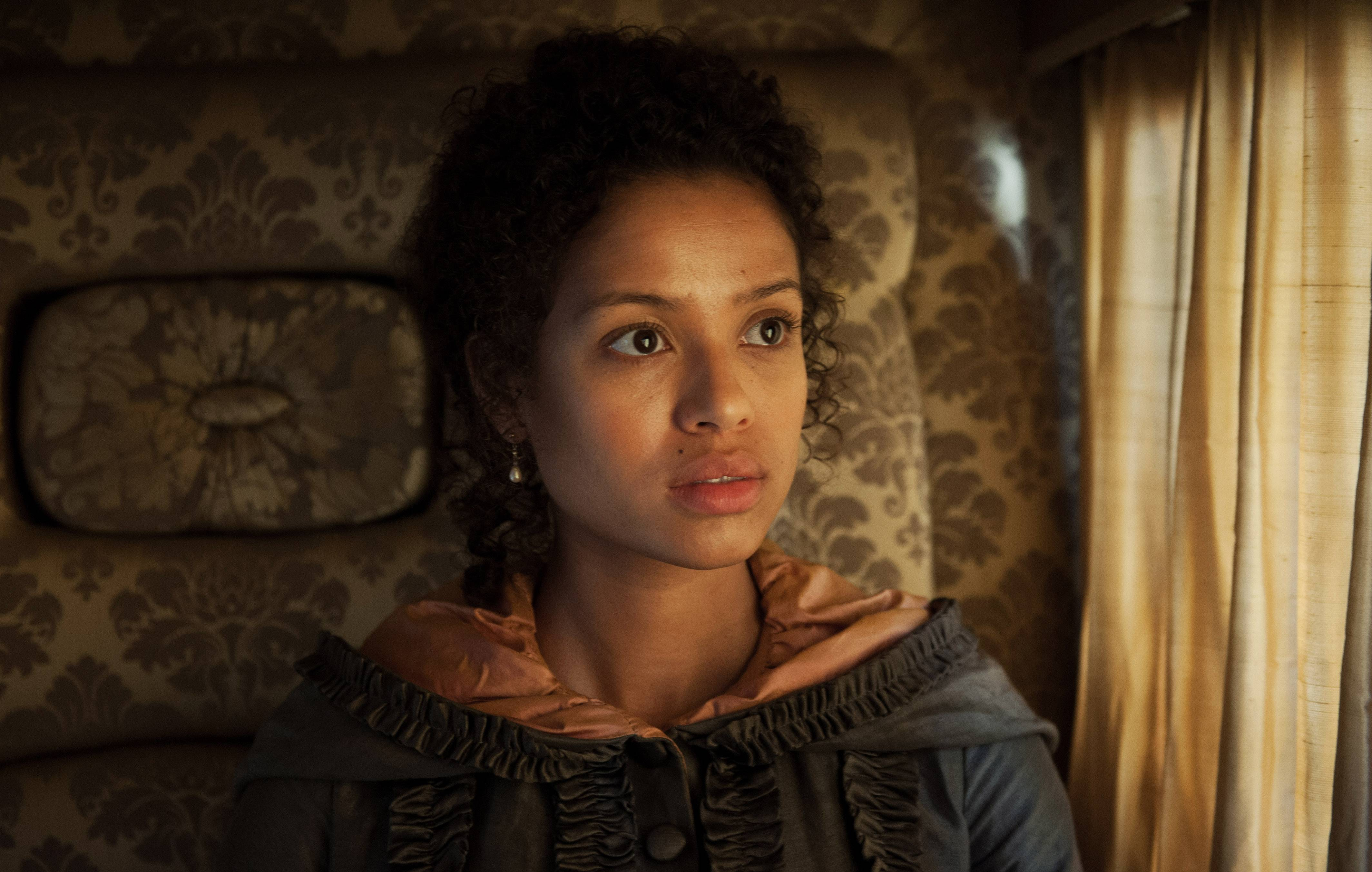 "Dido Elizabeth Belle (Gugu Mbatha-Raw) is caught between two worlds in ""Belle."""