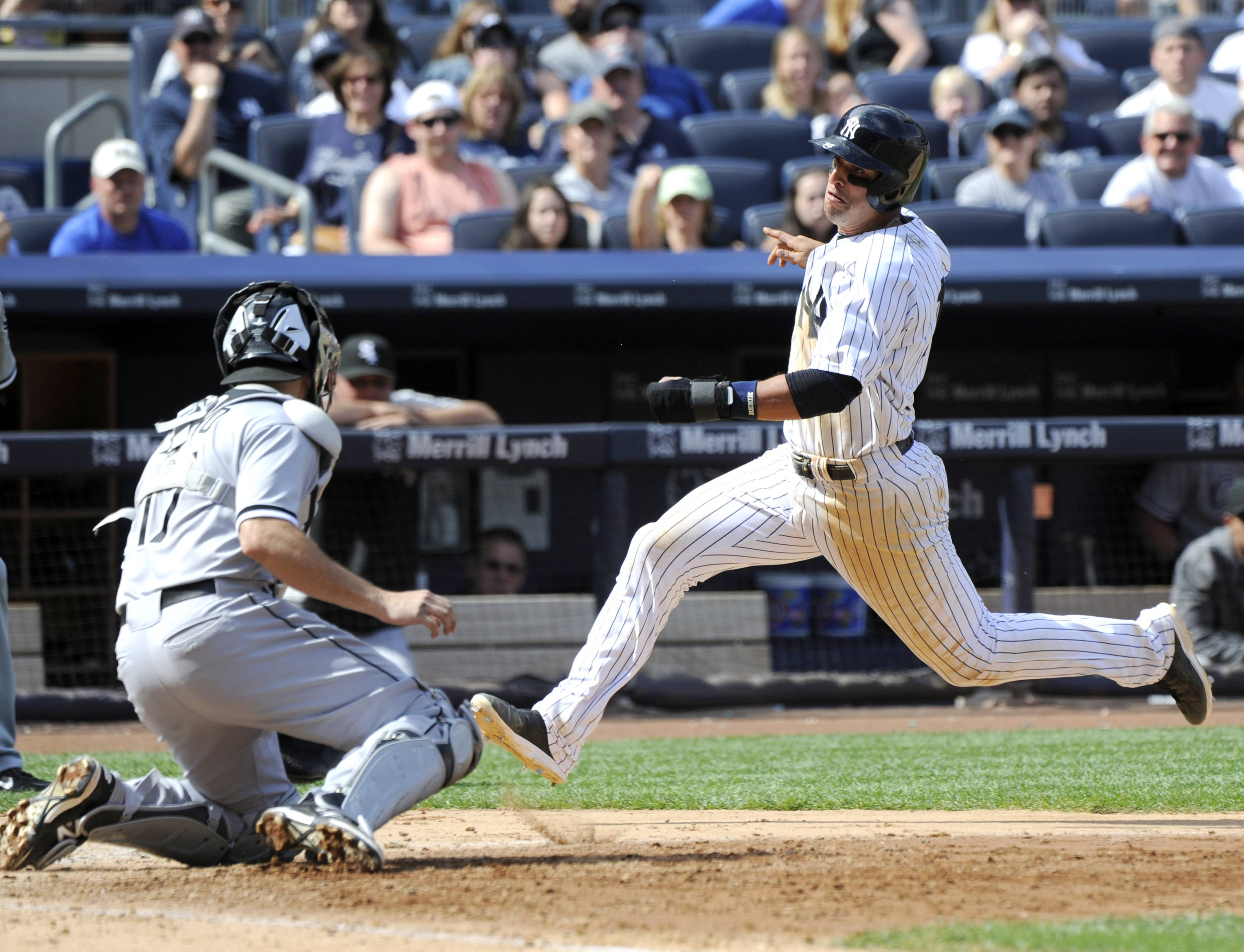 Carlos Beltran gave the Yankees' struggling offense a jolt with a home run in his return to the lineup, Martin Prado had another go-ahead hit and New York beat the White Sox 5-3 on Saturday. Hiroki Kuroda (9-8) worked in and out of trouble for six innings, allowing two runs and five hits in helping New York to its third straight win after a 2-7 stretch.