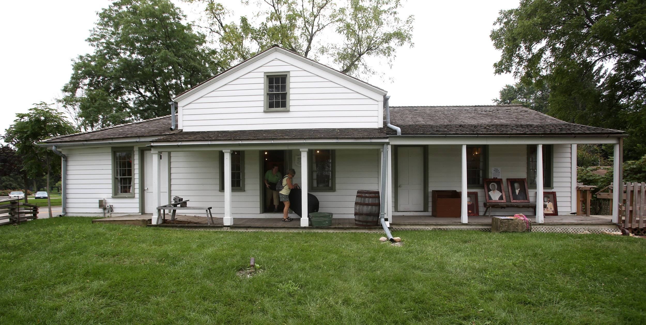 The Lombard Historical Society's three-day Peckapalooza celebration, honoring the completion of the Peck Homestead's construction, continues through the weekend.