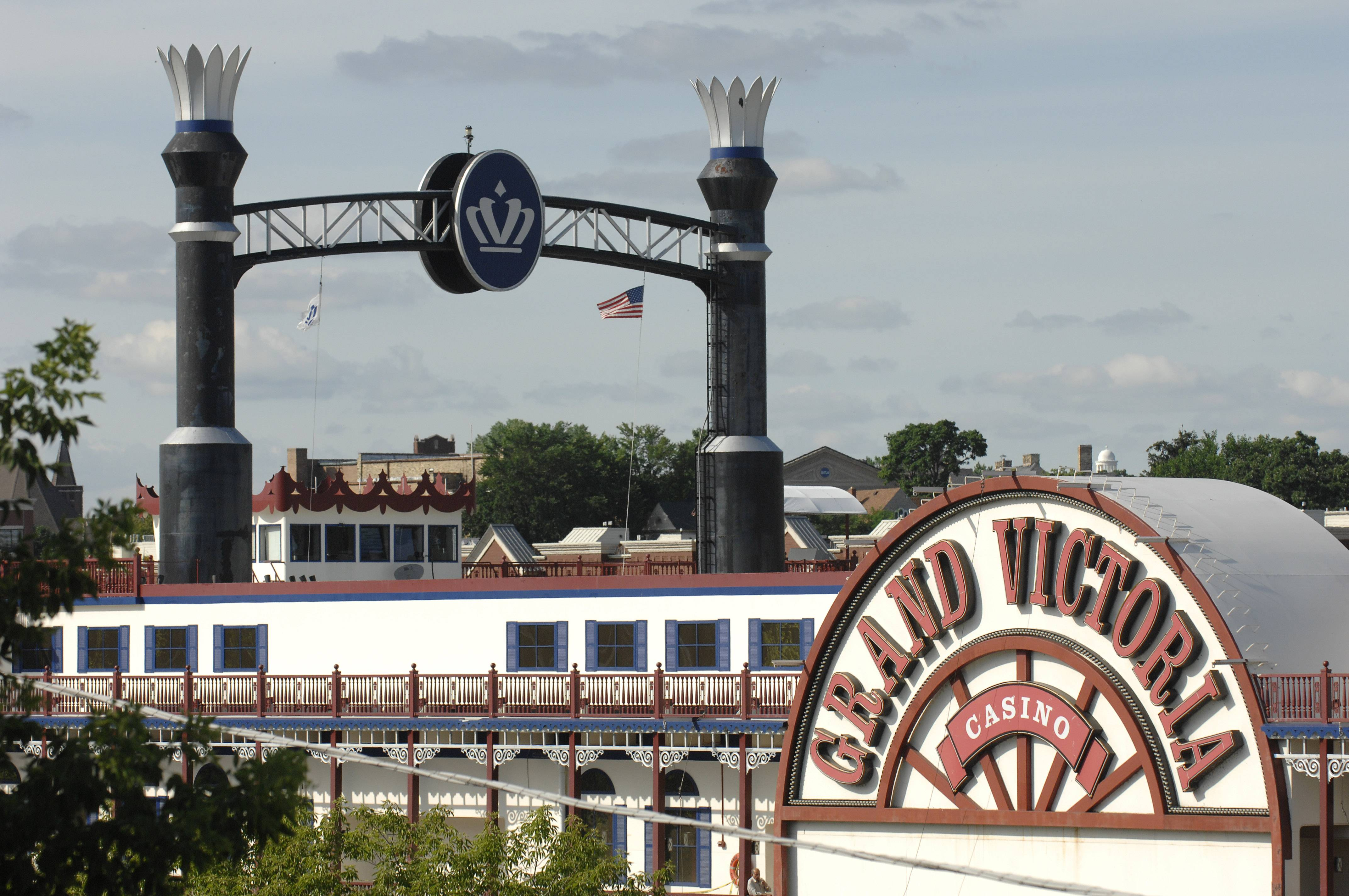 The profit margin for the Grand Victoria Casino in Elgin continues to shrink amid increased competition.