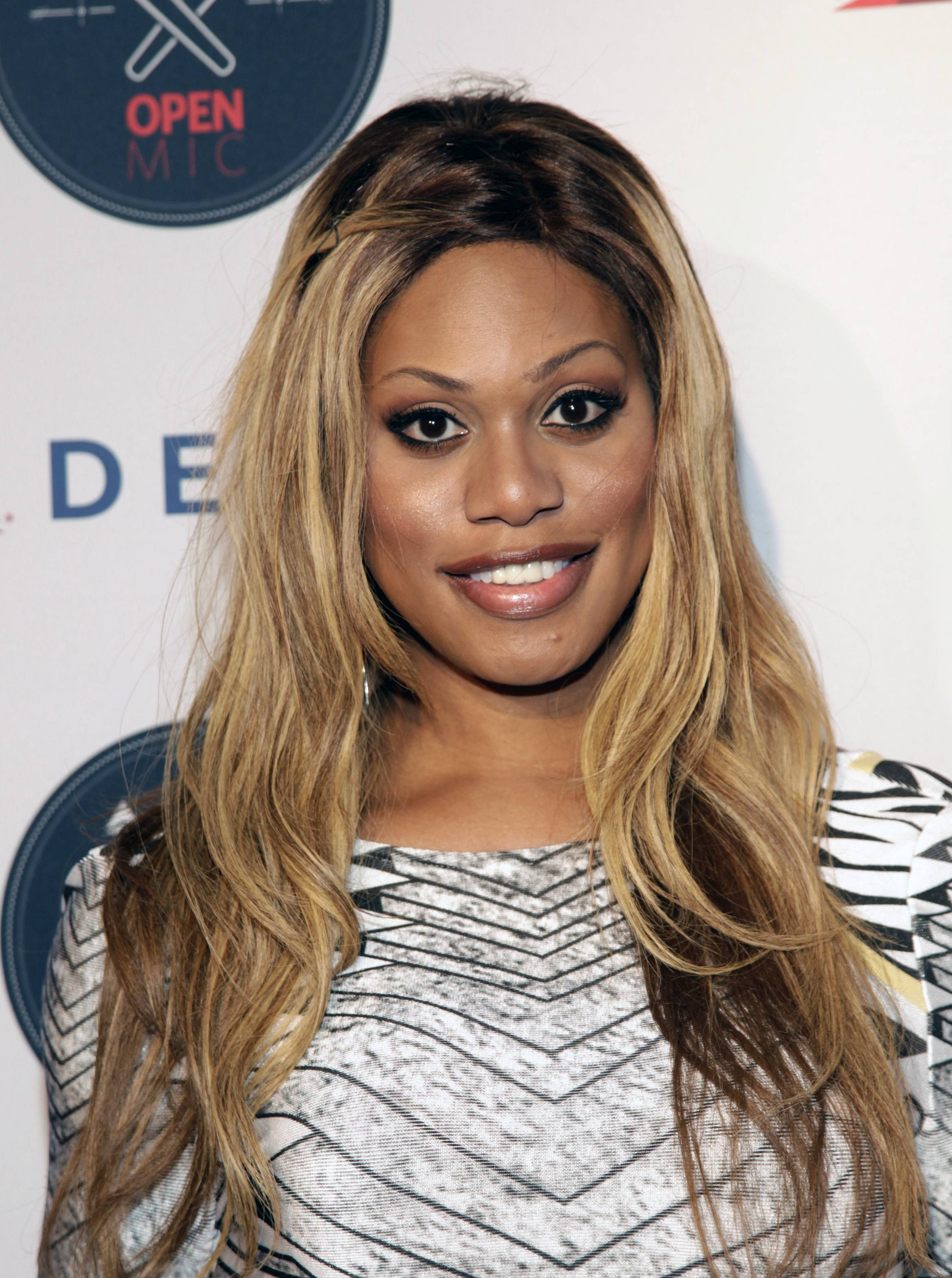 "Actress Laverne Cox hopes her success can serve as an inspiration to others. ""It gives me hope that anything is possible. I'm a black trans woman from Alabama raised by a single mother from a working class background."""