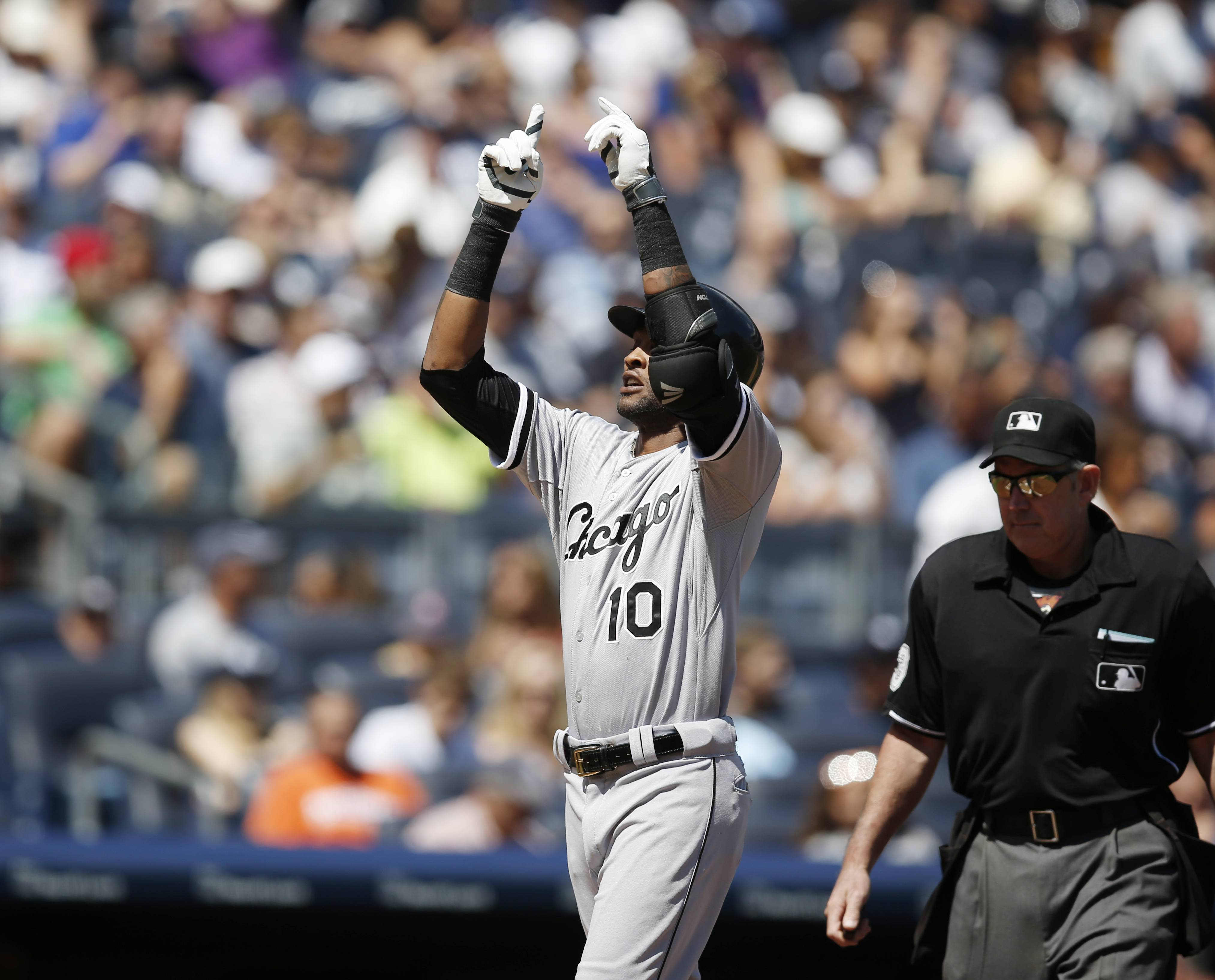 The offensive resurgence of shortstop Alexei Ramirez, who opened Sunday's game with a home run, has been a big plus for the White Sox this season.