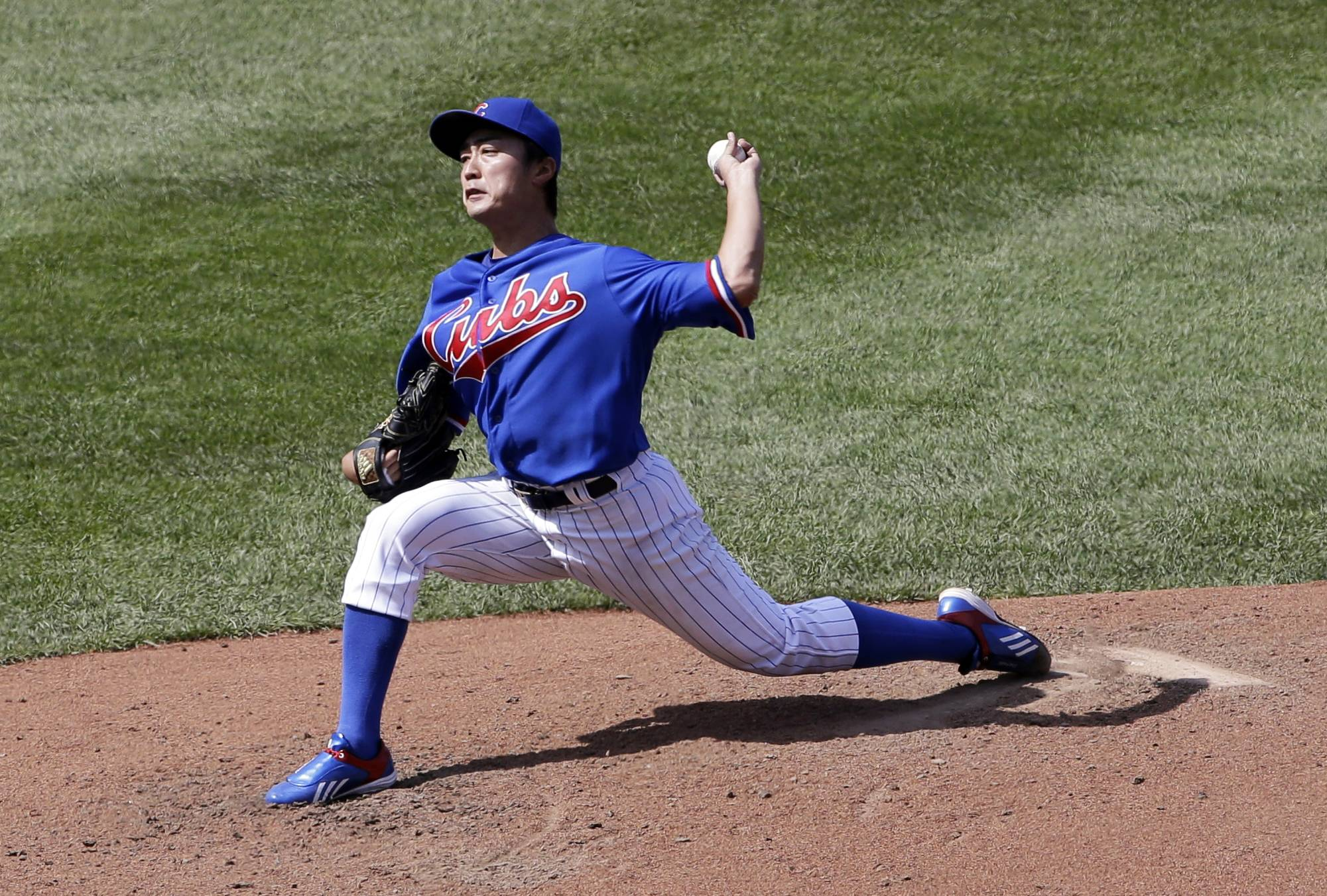 Cubs starter Tsuyoshi Wada took a no-hitter into the seventh inning in Sunday's victory over the Orioles at Wrigley Field.