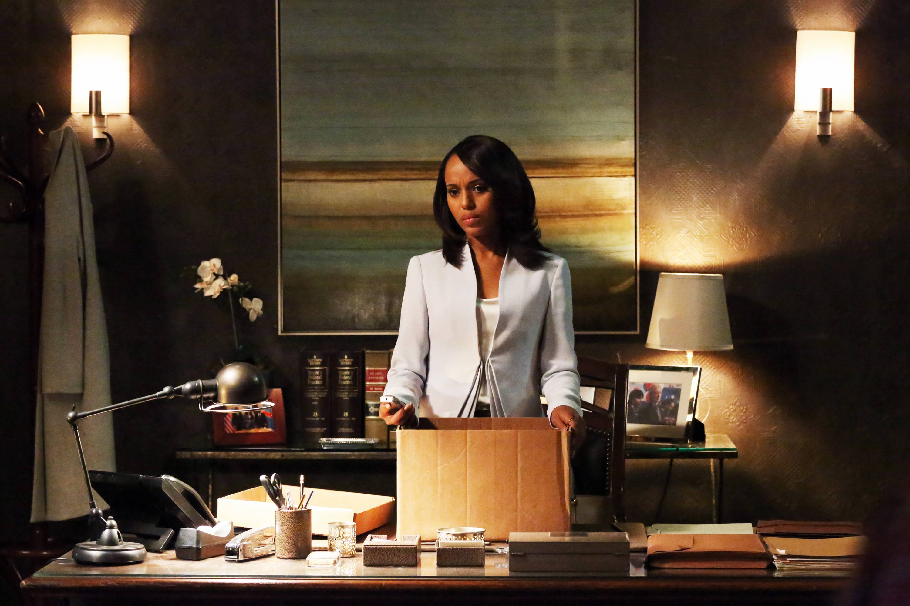 "Her show ""Scandal"" may not have been nominated, but star Kerry Washington is up for best actress in a drama series."