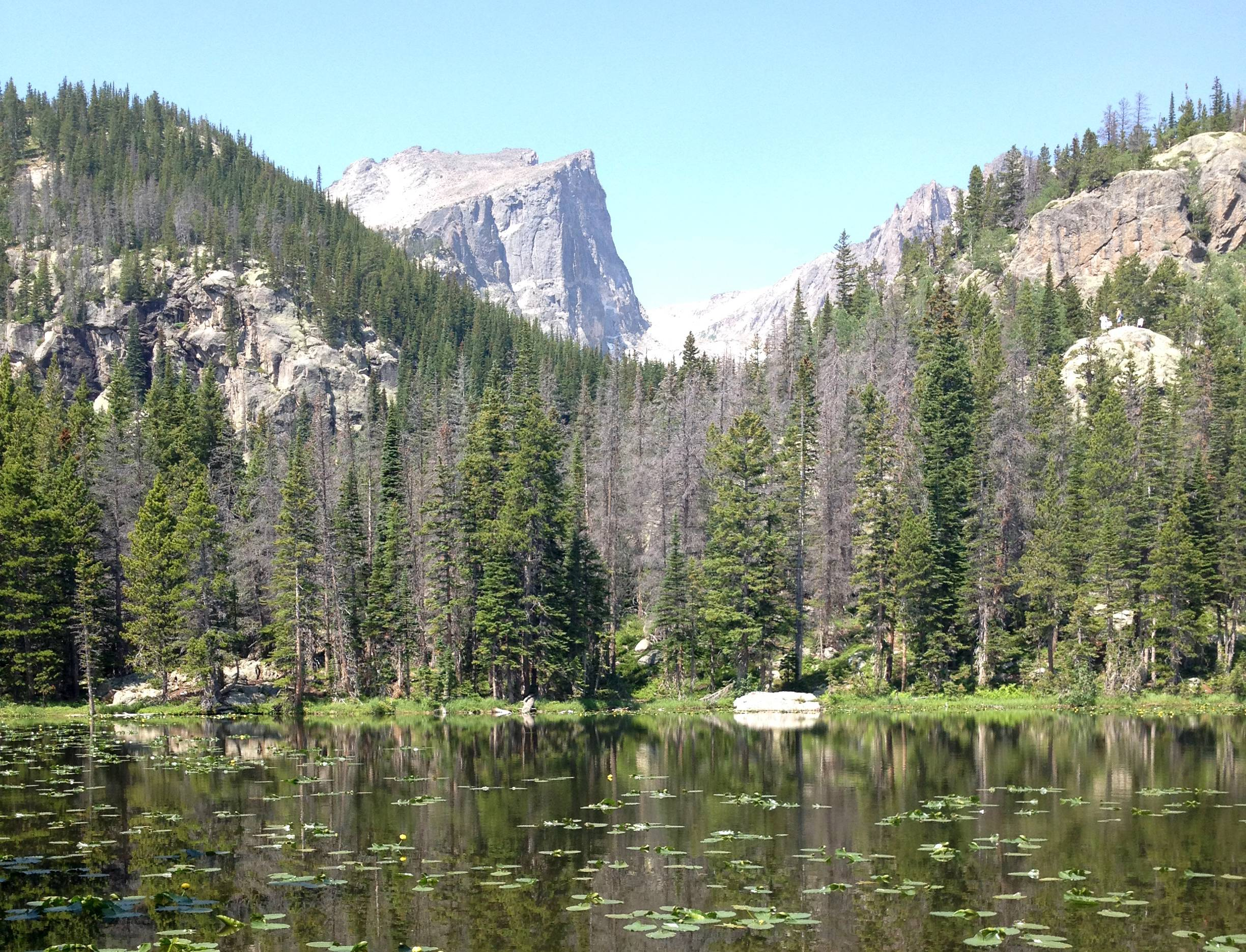 Fall is a nice time to visit the Bear Lake Corridor Trails area in Rocky Mountain National Park.