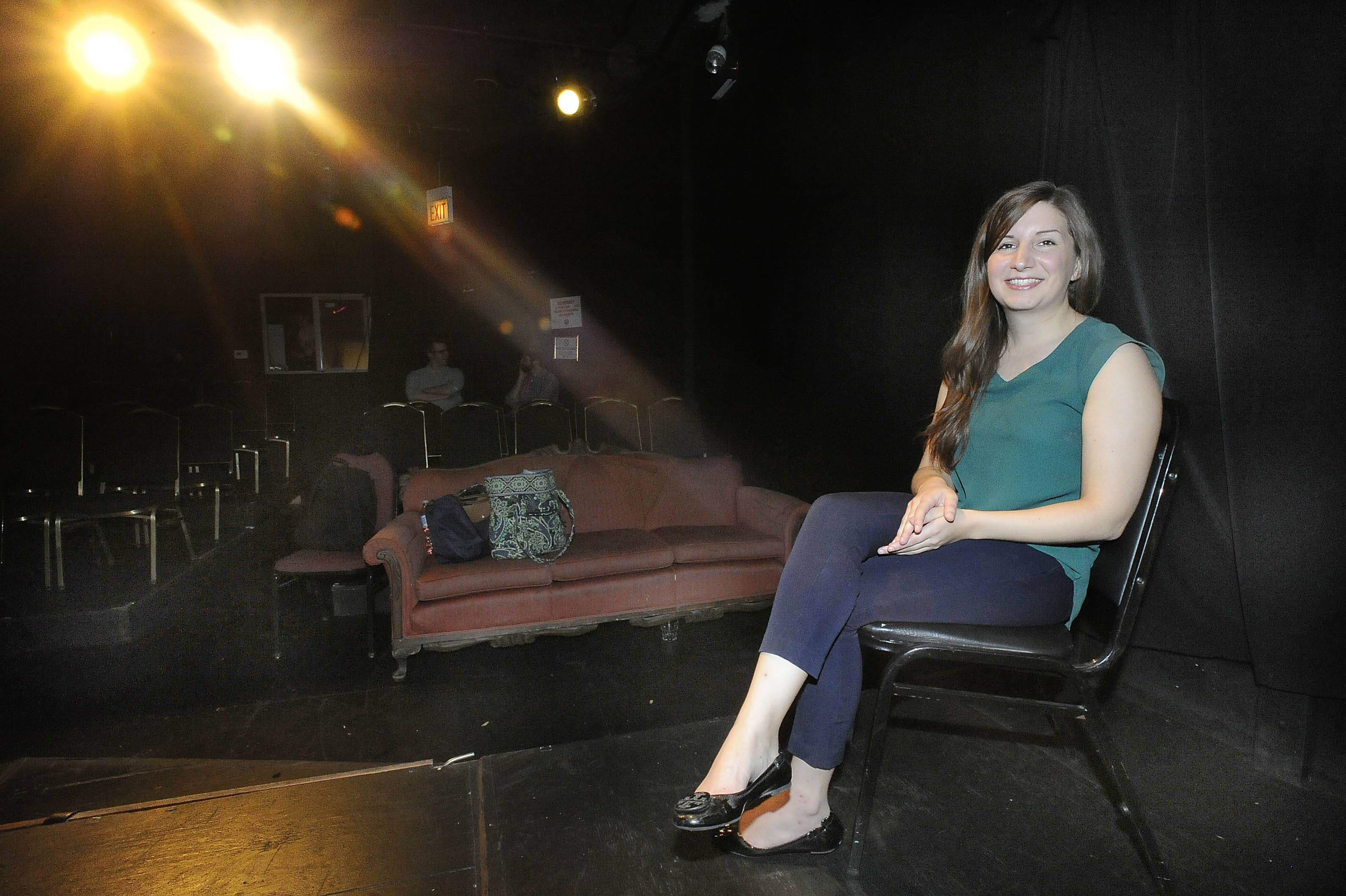 Introverted and too tired to play during her grueling treatment for leukemia when she was a child, Lisa Mongillo did a lot of reading and writing. Now, the 25-year-old Second City-trained Arlington Heights native writes comedy and performs in a show at the Public House Theatre in Chicago.