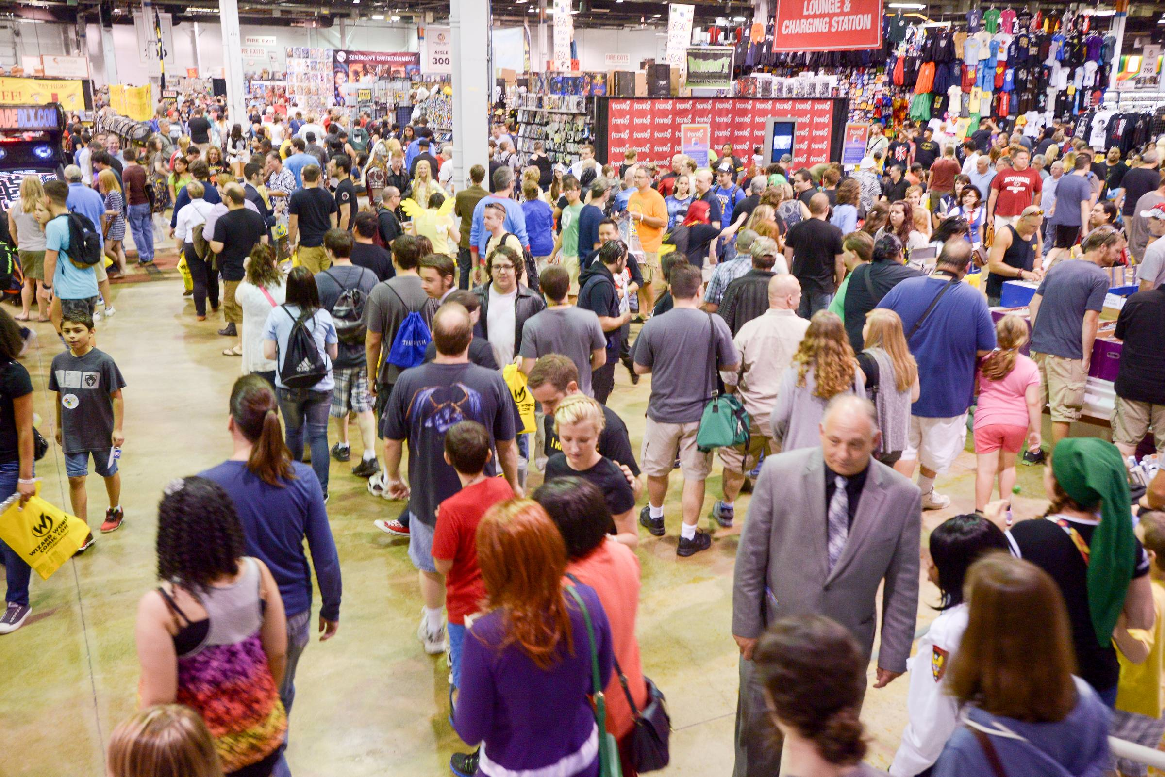 The Comic Con convention at the Donald E. Stephens Convention Center in Rosemont drew massive crowds.