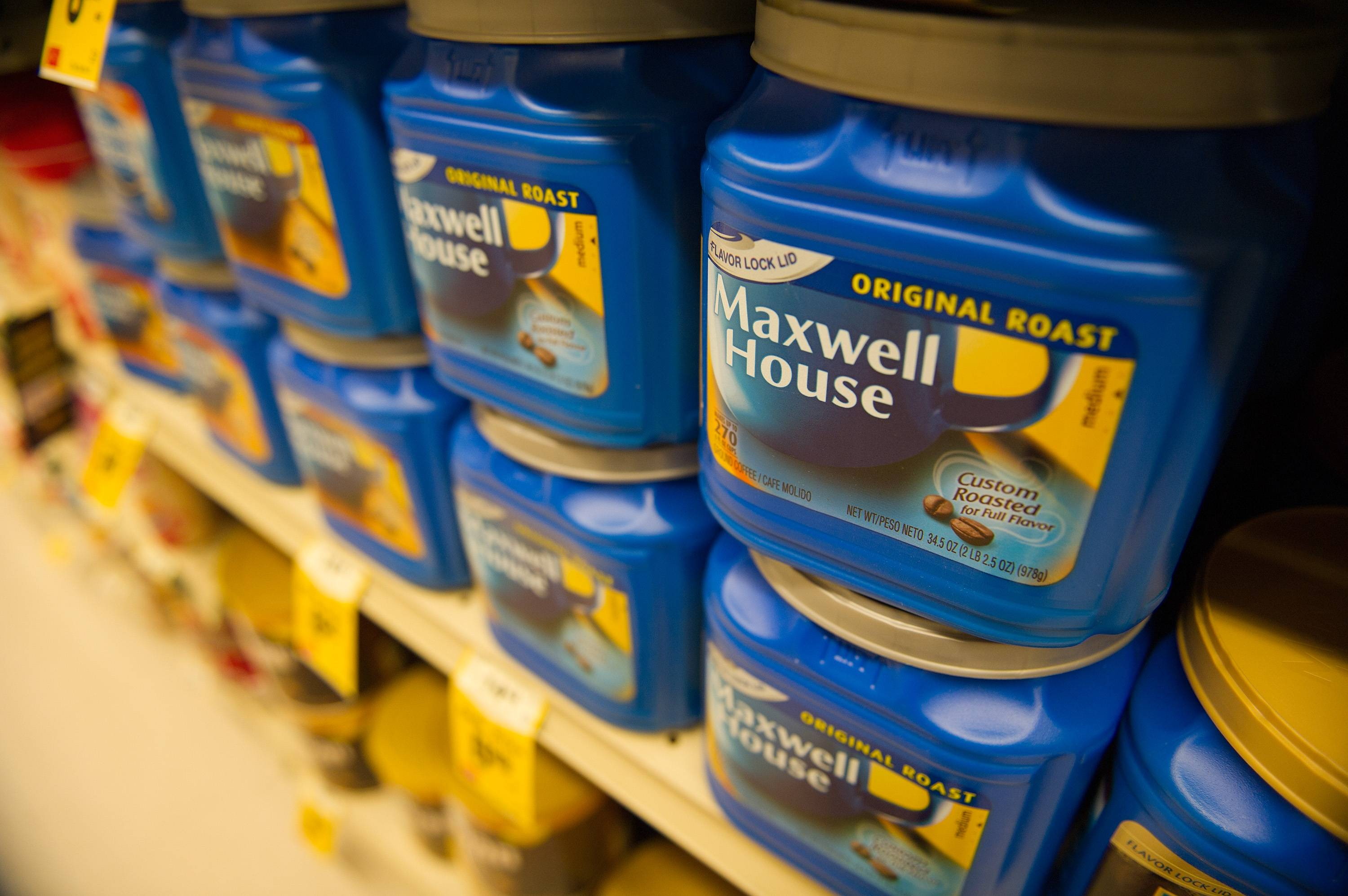 Keurig Green Mountain Inc. surged to a record high after announcing a deal to bring Northfield-based Kraft Foods Group Inc. coffee brands such as Maxwell House to its home brewing system.