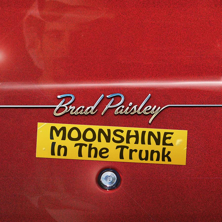 "Paisley backs away from social issues and strikes up a party on his 10th studio album, ""Moonshine in the Trunk."" However, that doesn't mean he suddenly starts to play it safe."