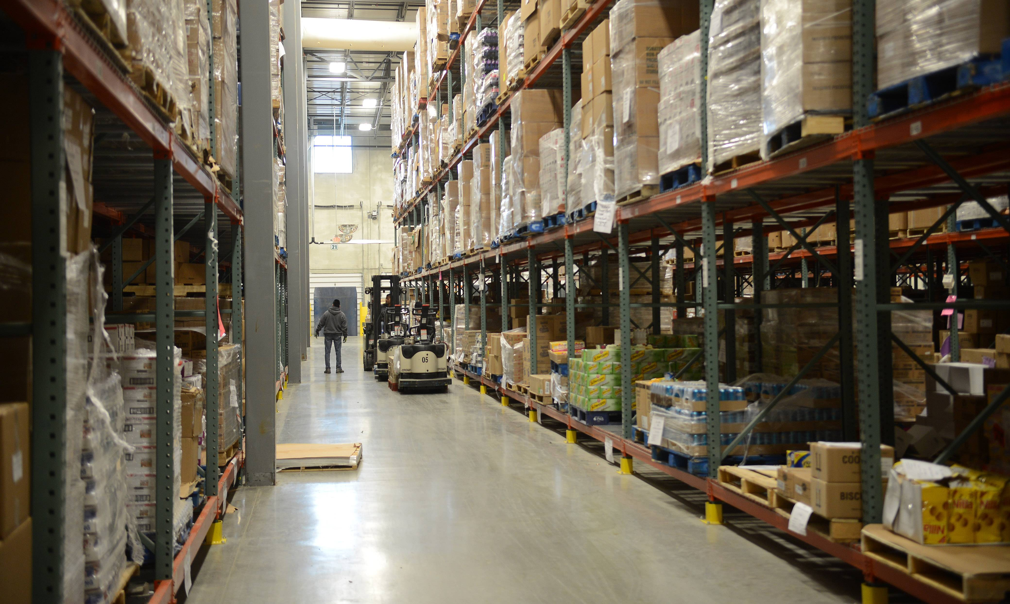 The Northern Illinois Food Bank in Geneva hopes to provide 75 million meals per year to people in need by 2020, as opposed to 50 million meals per year now.
