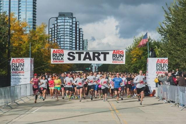 The AIDS Run and Walk Chicago steps off Sunday, Sept. 14, in Grant Park.