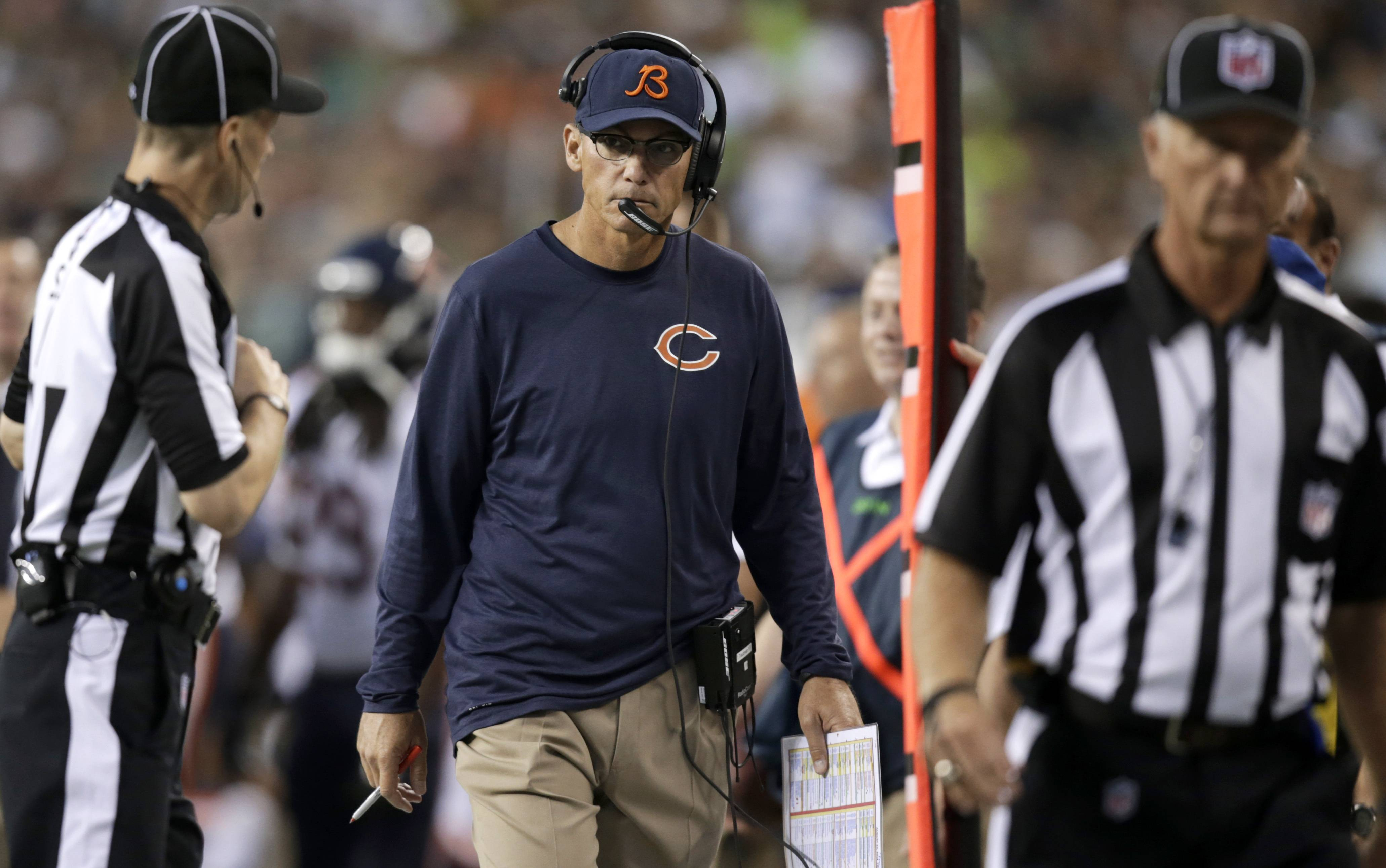 If nothing else, Friday's 34-6 loss at Seattle makes it easier for Bears coach Marc Trestman to convince his team that there is still much work to be done.