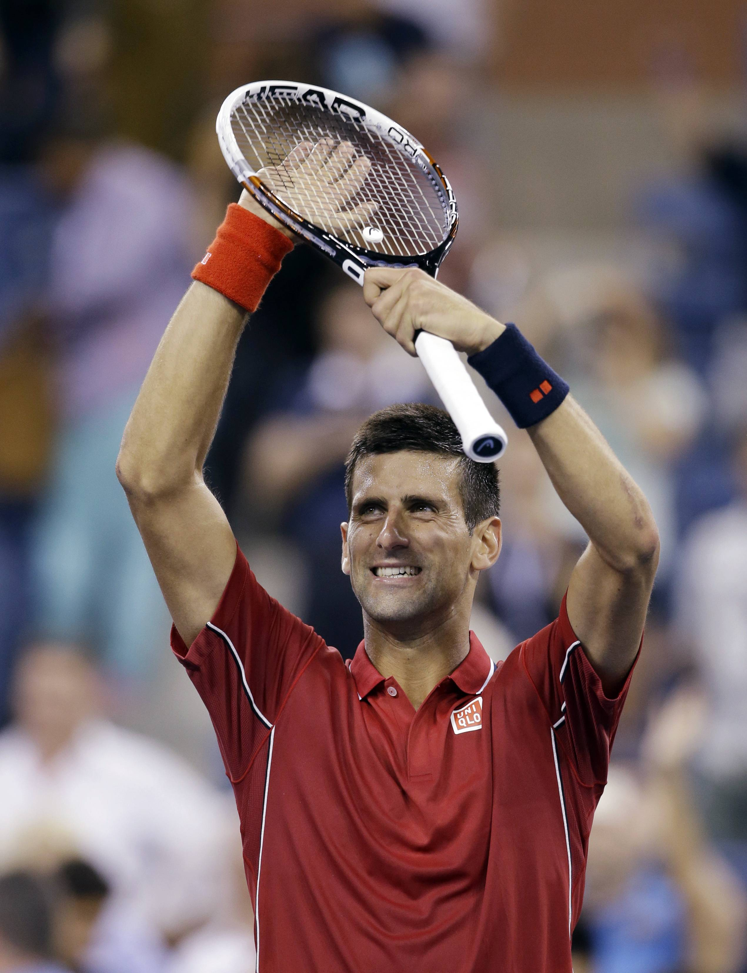 Novak Djokovic defeated Diego Schwartzman 6-1, 6-2, 6-4 on Monday in the opening round of the U.S. Open.