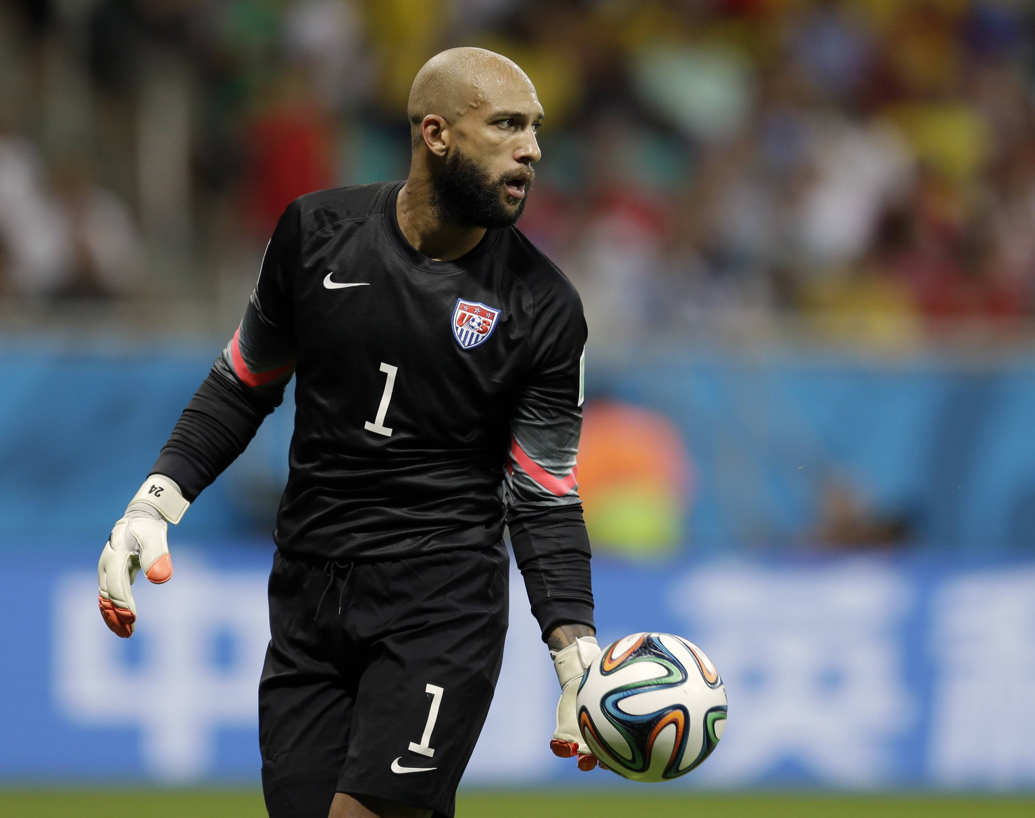 U.S. goalkeeper Tim Howard says he was eager to share the highs and lows of his life and career, including his battles with Tourette's syndrome, and hopes to inspire others.