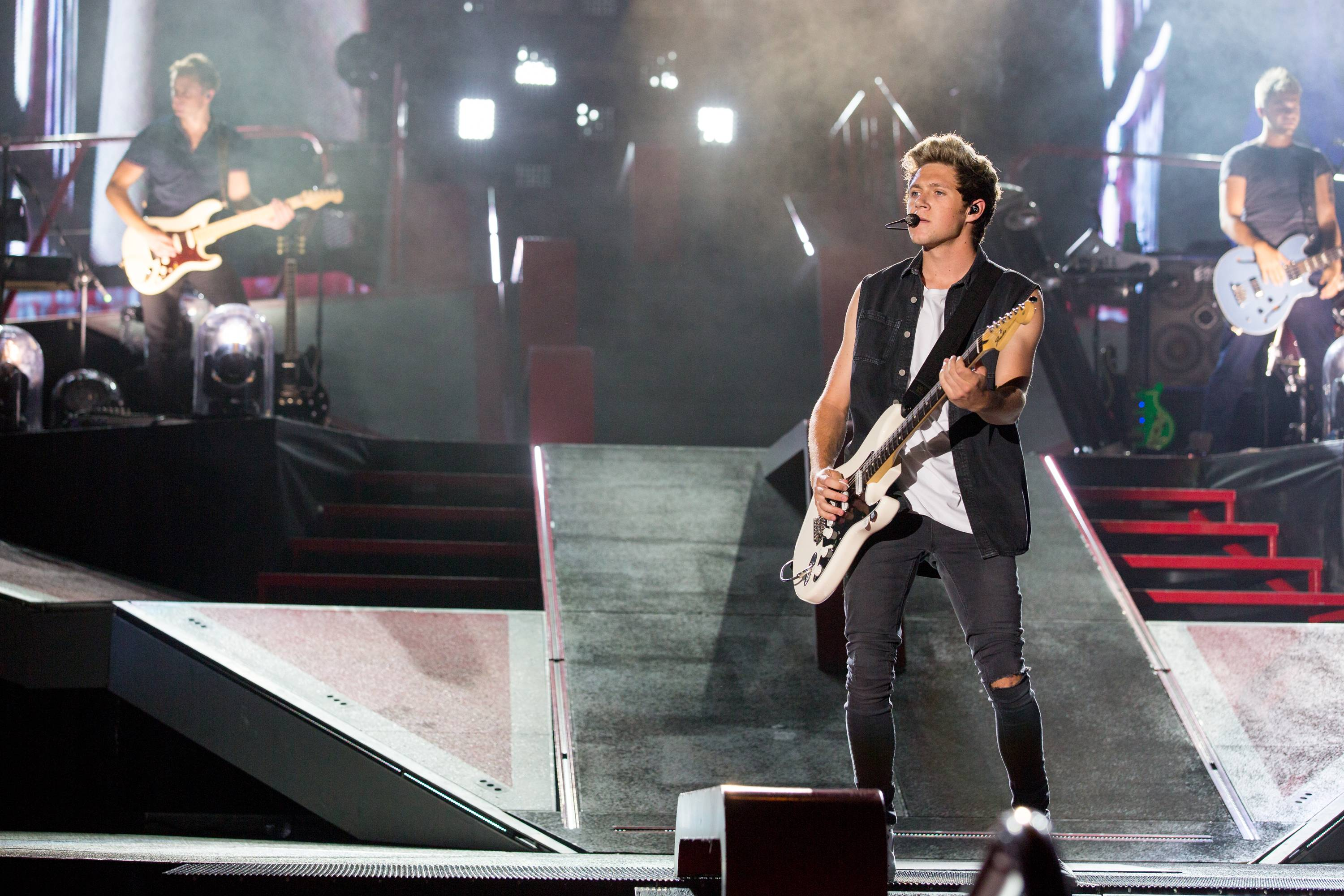 Niall Horan and the rest of One Direction play Soldier Field in Chicago for two performances on Friday and Saturday, Aug. 29 and 30.