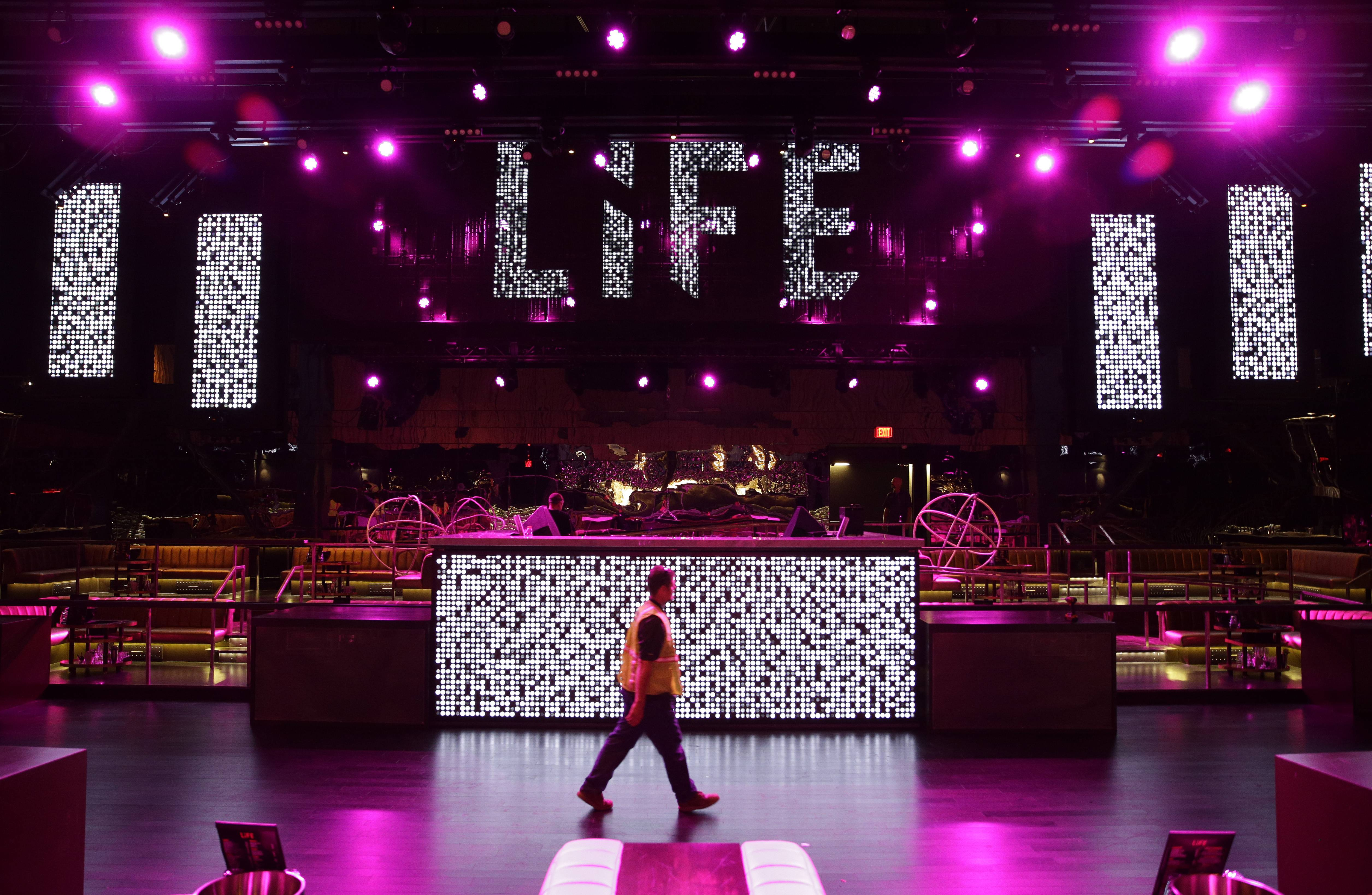 The Life Nightclub, along with many upscale restaurants, is hope to attract visitors to the new SLS Las Vegas in Las Vegas. The hotel and casino, formally known as the Sahara, went through extensive renovations before opening Aug. 23.