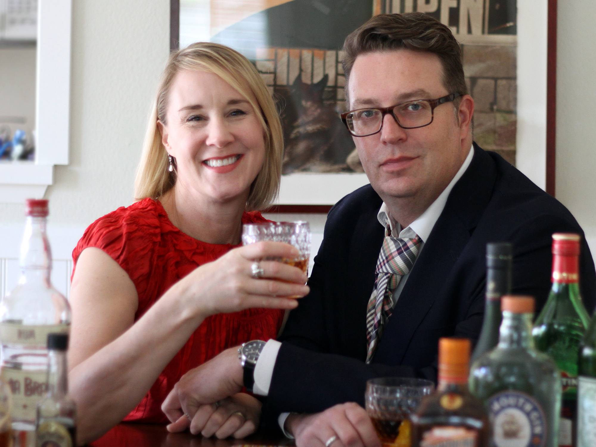 Lesley Jacobs Solmonson and her husband, David Solmonson, wrote a book filled with cocktail recipes focusing on only the most essential ingredients for great drinking.