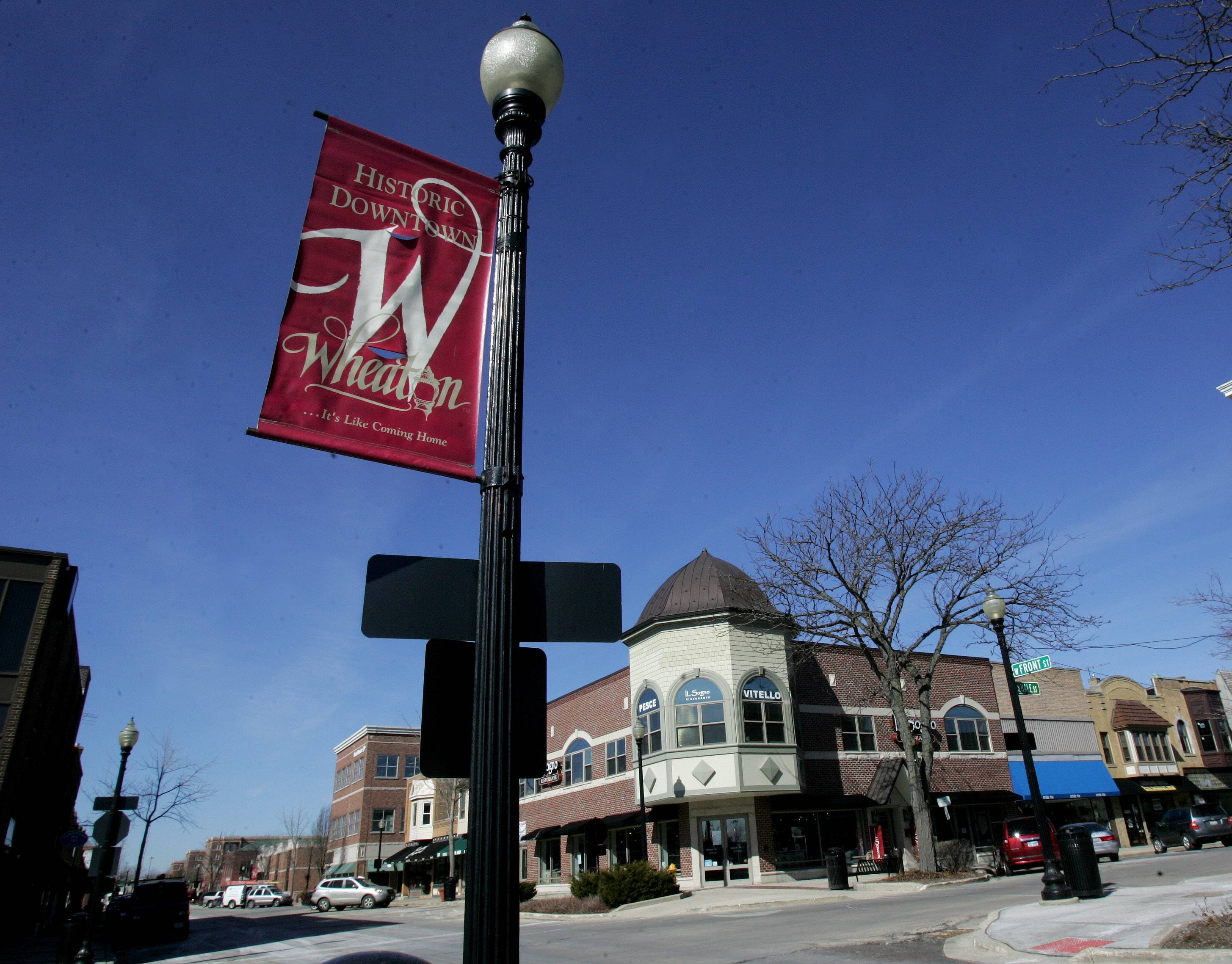 The Downtown Wheaton Association has requested $41,000 in city funding for fiscal 2014-15 to make up for a revenue shortfall.