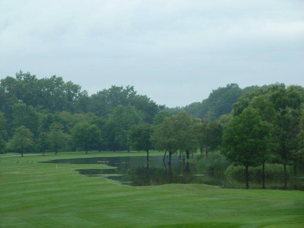 Flooding, like that shown here from 2010, has been a regular problem at Palatine Hills Golf Course. Heavy rains Saturday forced the course to close several holes over the weekend.
