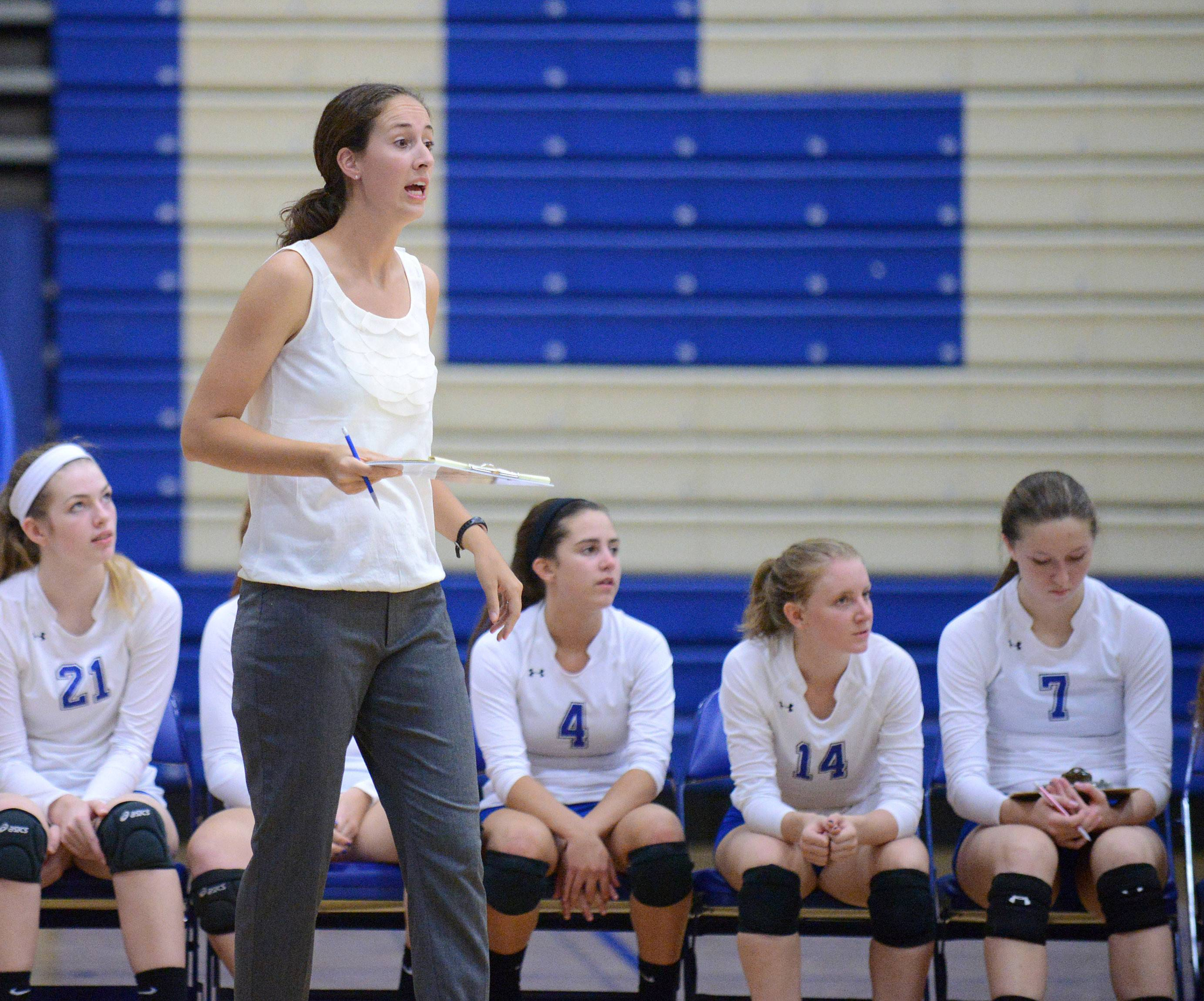 Geneva's new varsity girls volleyball coach Annie Seitelman.