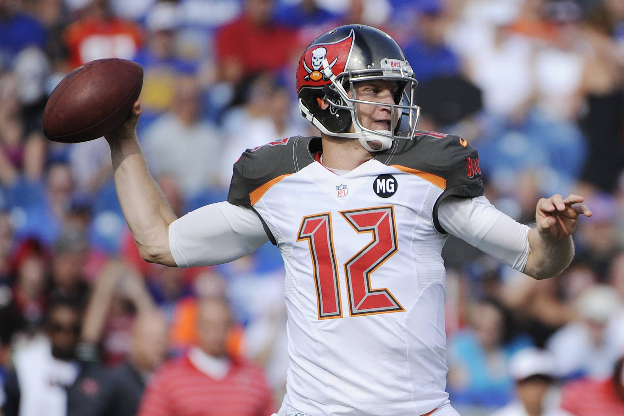 Although Tampa Bay quarterback Josh McCown completed 13 of 16 passes in his third preseason game with the Bucs, he has 2 touchdown passes and 2 interceptions in his three starts.