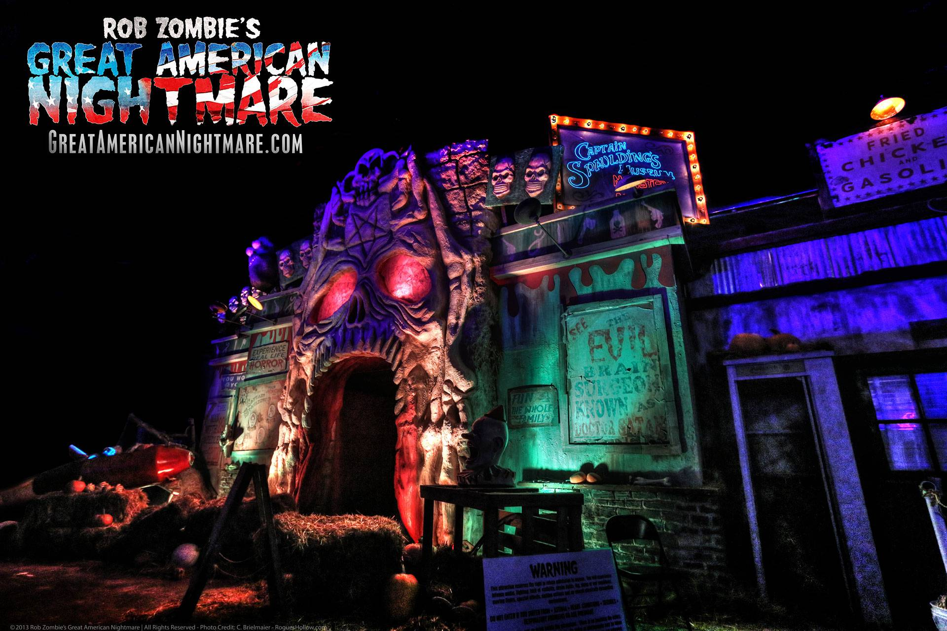 The macabre entry into Rob Zombie's Great American Nightmare, a unique haunted attraction headed to Chicagoland this Halloween season.Rob Zombie's Great American Nightmare