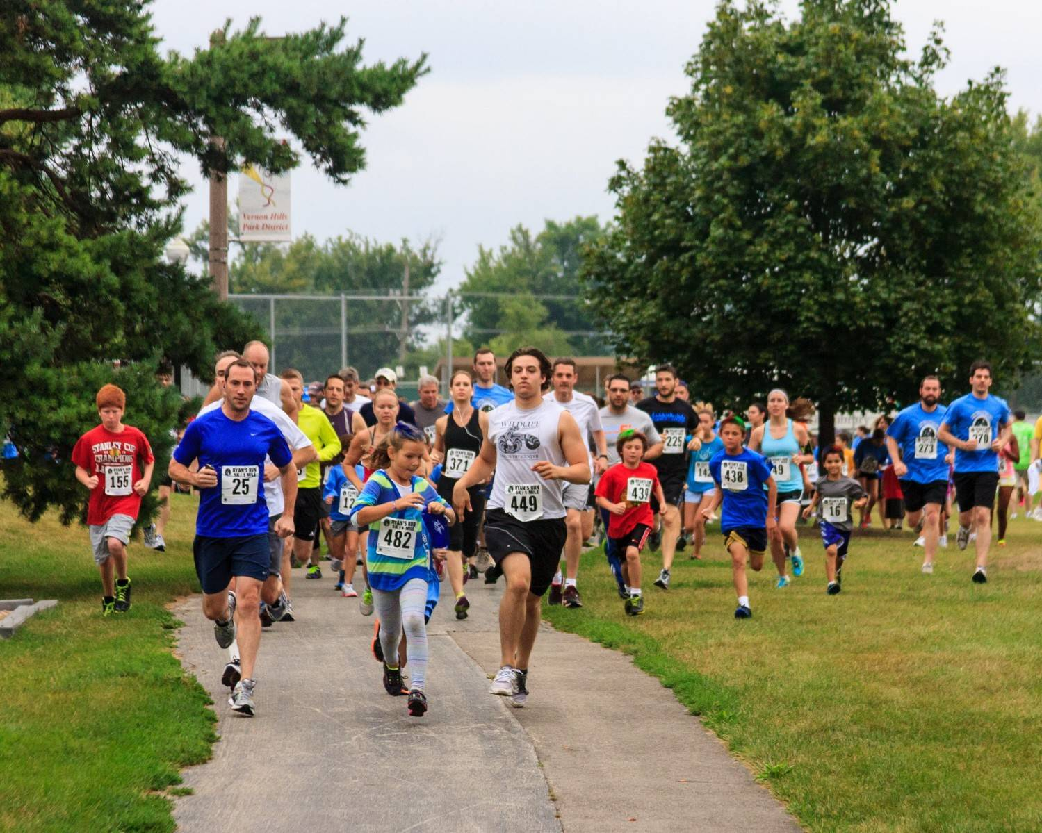 Participants run in the 2013 Ryan's Run fundraiser. This year's event will take place from 8-11:30 a.m. at Century Park, 1001 Lakeview Parkway, Vernon Hills.