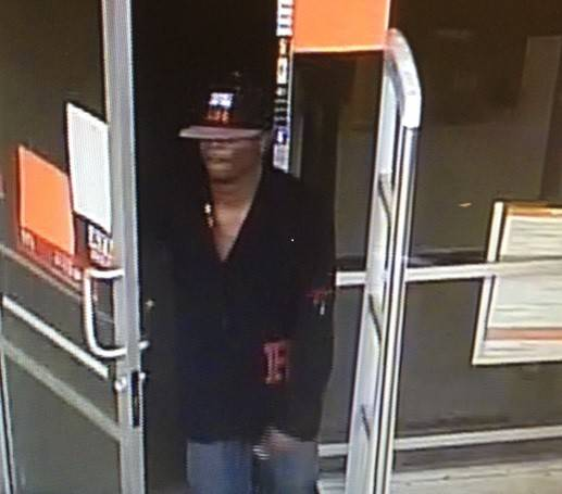 Waukegan police believe this man, shown here on surveillance footage, took part in two armed robberies earlier this week in Waukegan. Those robberies also may be linked to similar robberies in Gurnee, Zion and Round Lake, police said.