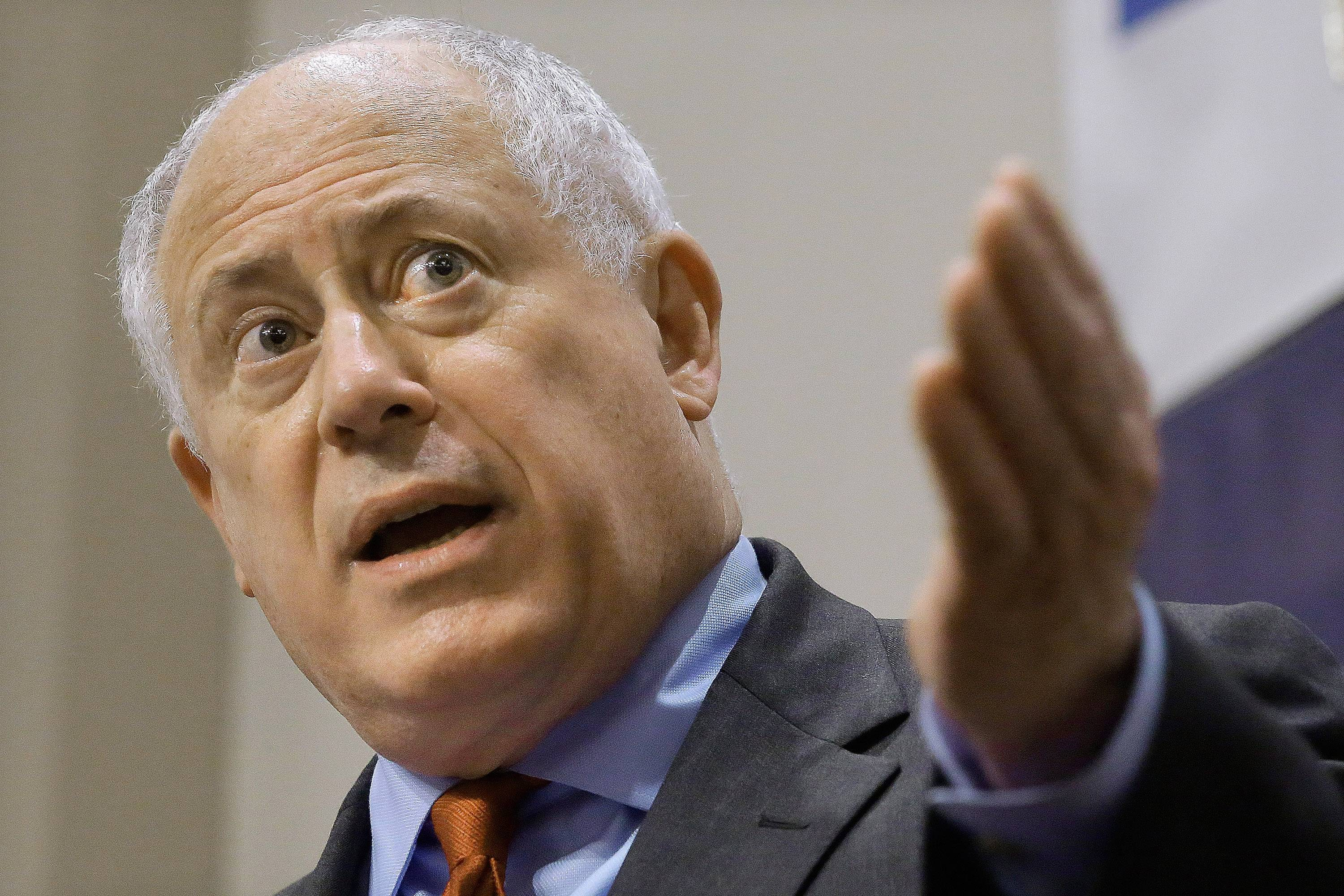 Illinois Gov. Pat Quinn said no to increasing speed limits on tollways through the suburbs to 70 mph.