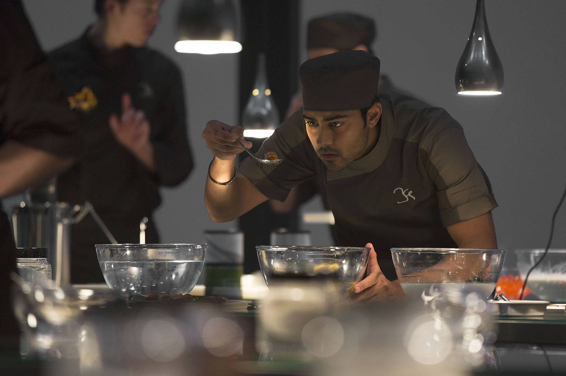 "Manish Dayal plays Hassan Kadam in DreamWorks Pictures' film ""The Hundred-Foot Journey,"" one of a number of recent culinary-based movies."