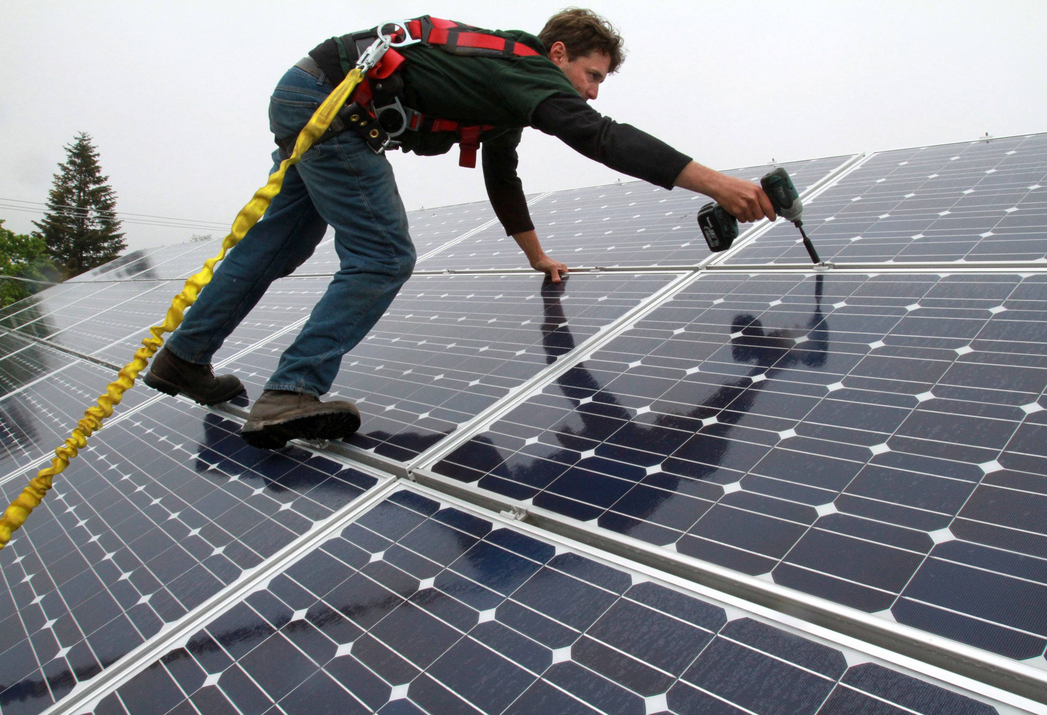 Hanover Park has joined a program that offers a 25 percent discount off the cost to install rooftop solar panels.