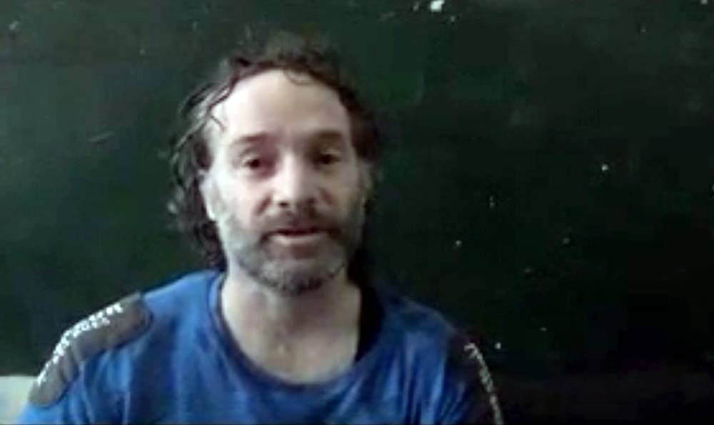 Freelance journalist Peter Theo Curtis was freed Sunday after 22 months in captivity.