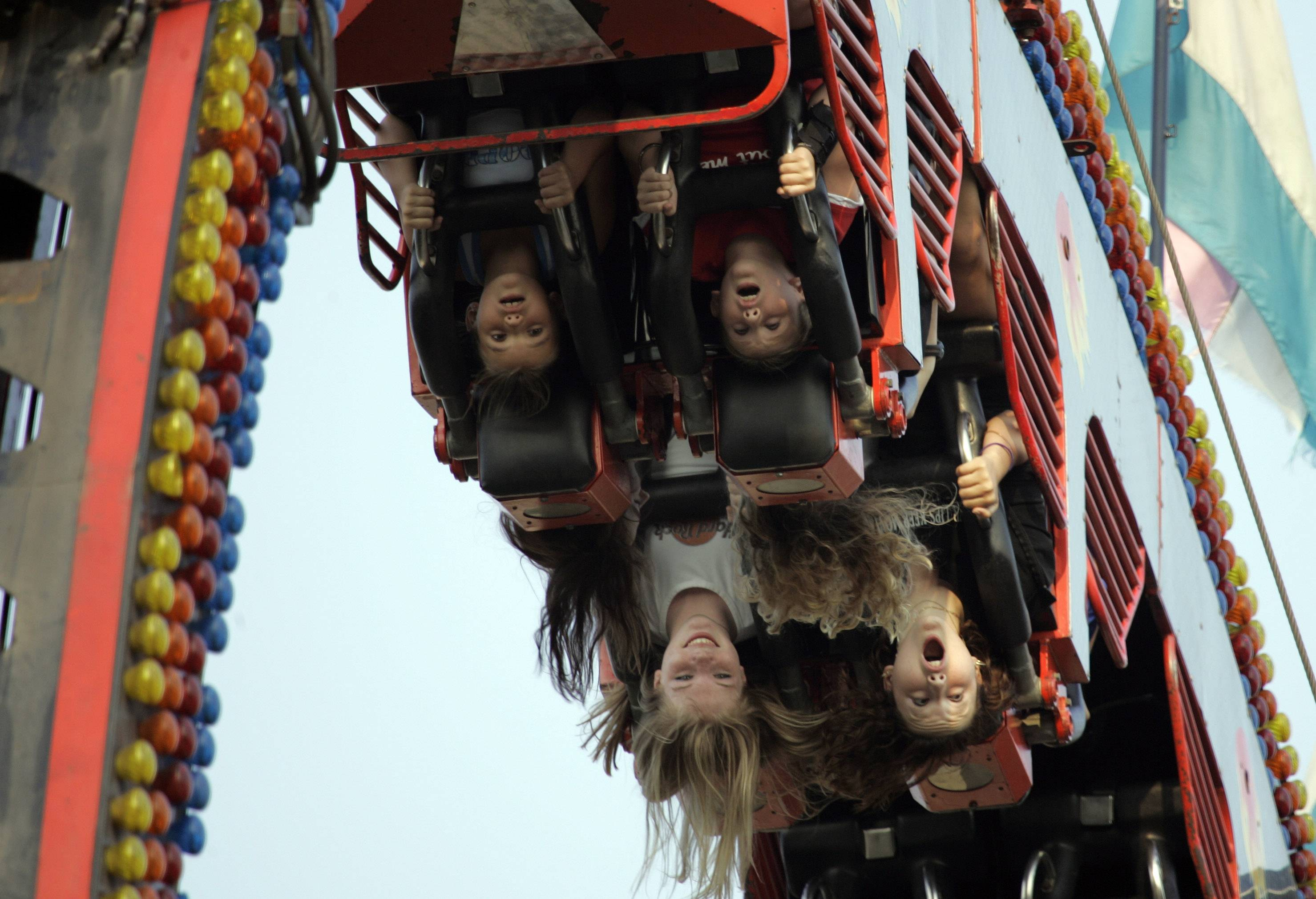 Check out the carnival along Jackson Avenue as part of the Last Fling Labor Day festival in Naperville.