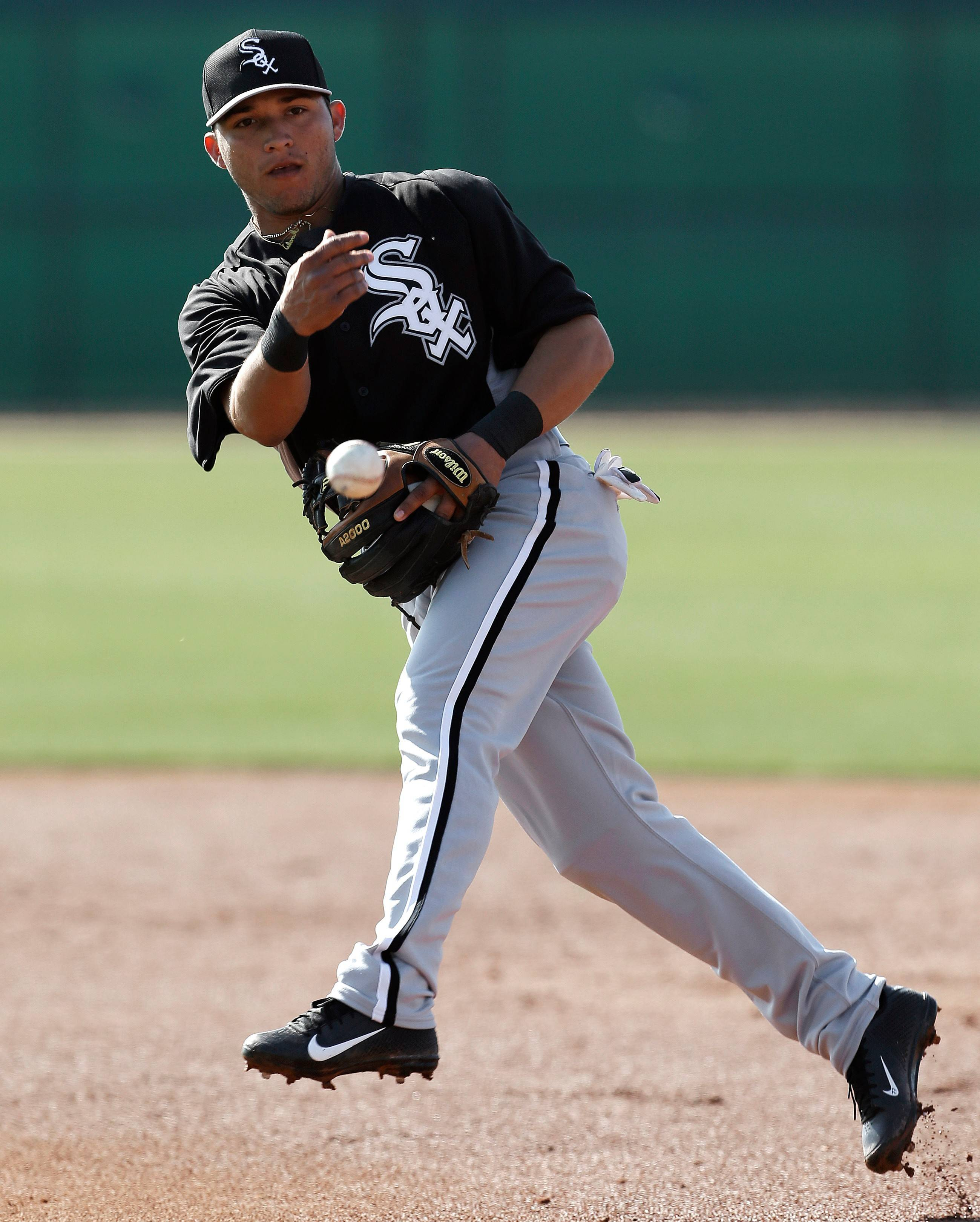 The White Sox Carlos Sanchez has taken over for Gordon Beckham at second base after Beckham was traded to the Los Angeles Angels last week.