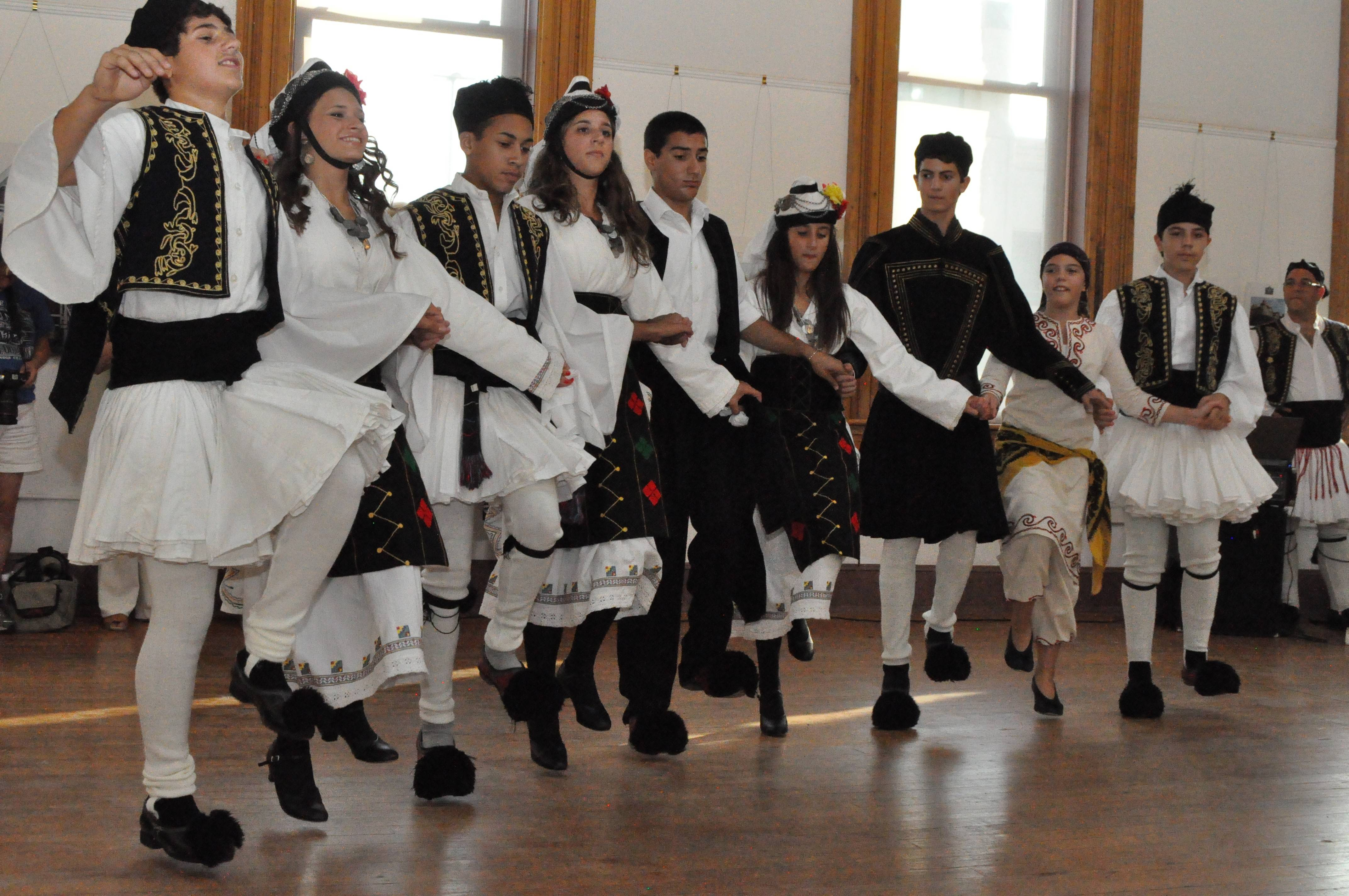 The Apollo Dance Troupe was founded by Aurorans Michael and Eva Kontos in an effort to teach young people more about their Greek culture. The Kontoses are among eight community leaders being honored at Sunday's Roots Aurora festival.