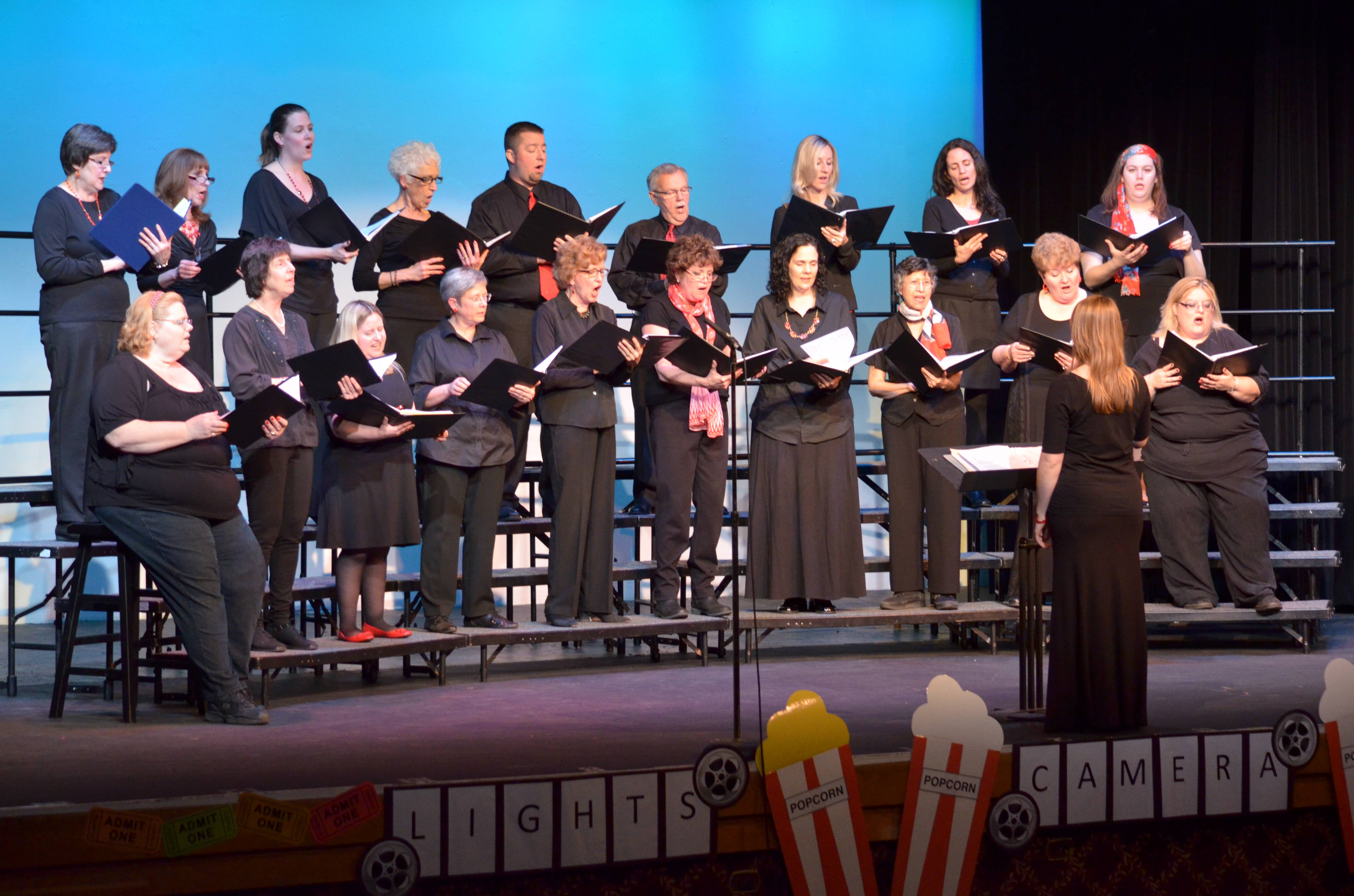 Allegro Adult Choir performs several times each year at Cutting Hall Performing Arts Center.Palatine Park District