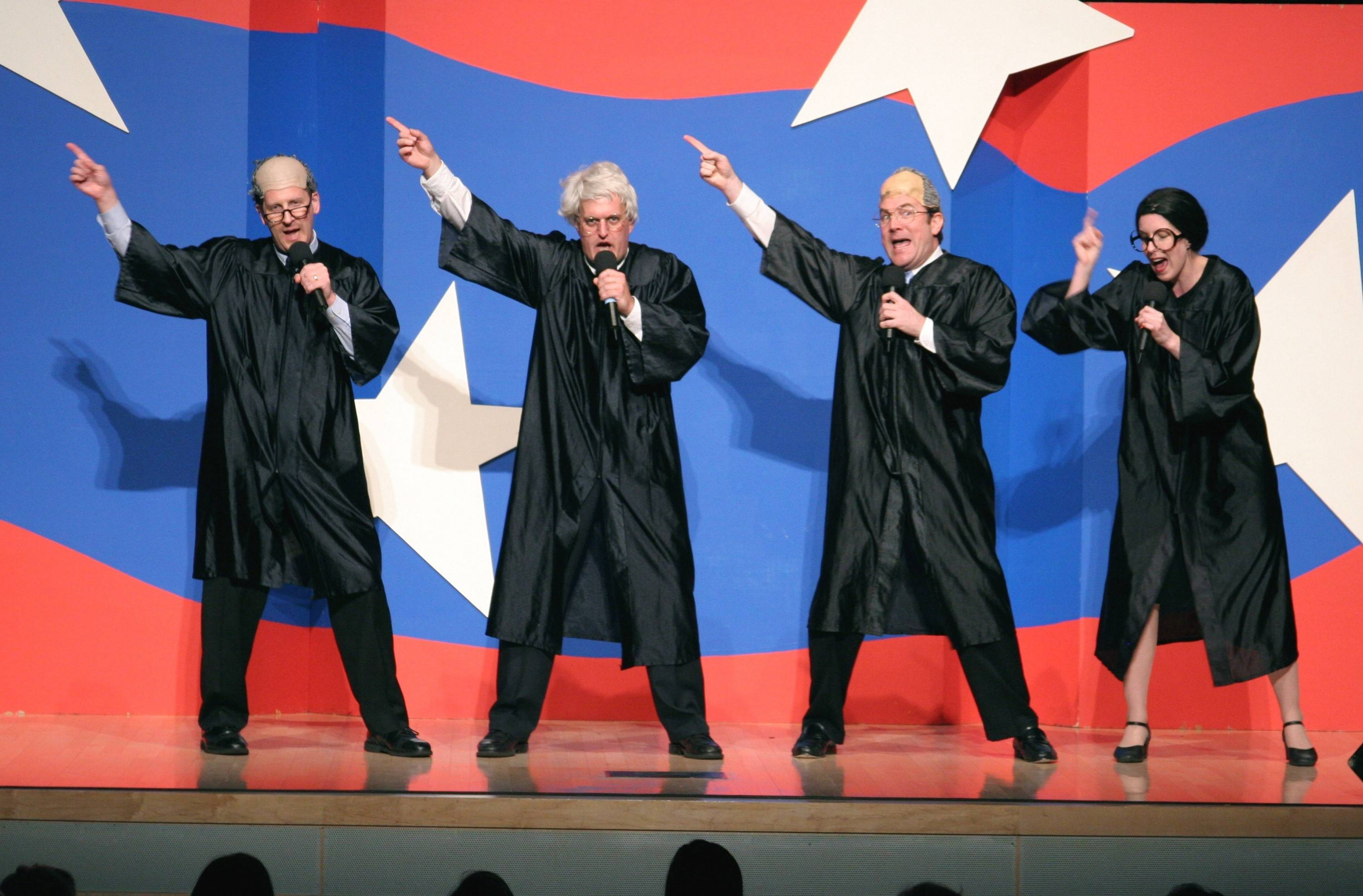 The Capitol Steps comedy troupe will perform Wednesday, Oct. 22, at the Genesee Theatre in Waukegan.