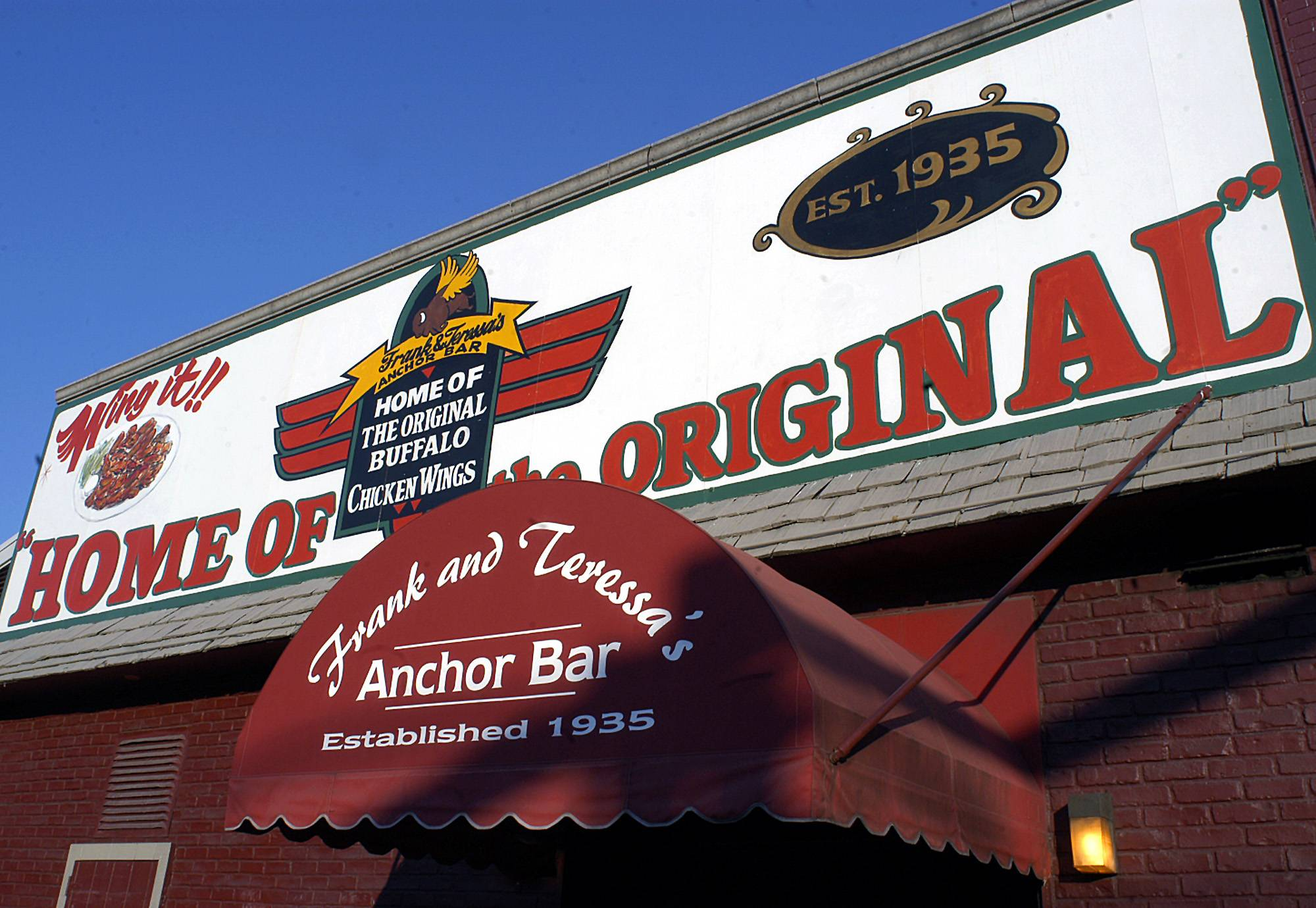 "The Anchor Bar is credited with inventing ""Buffalo style"" wings 50 years ago, but it's only one of a number of eateries in the Buffalo area that services the famous dish these days."