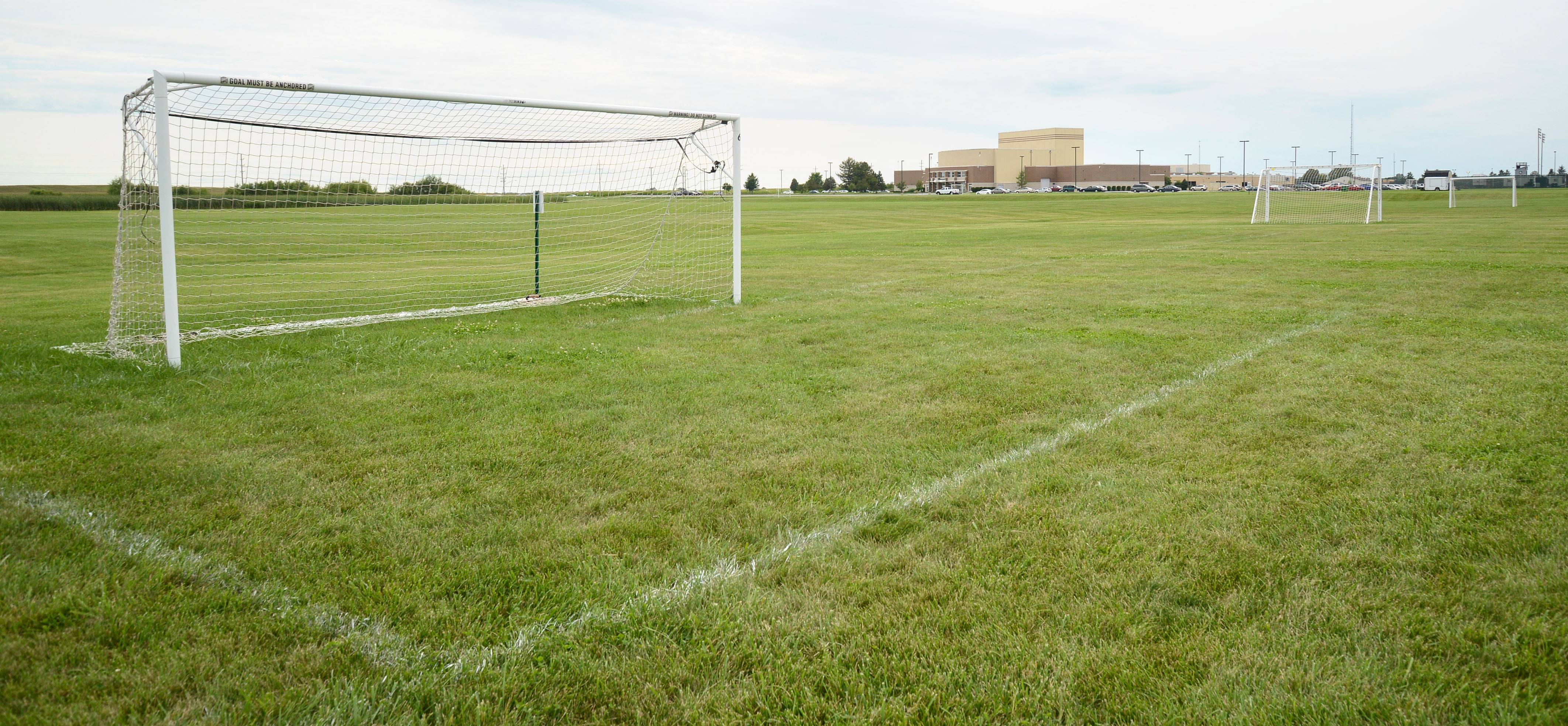 The Kaneland Youth Soccer Organization fields on Kaneland High School property, as well as fields farmed by the school's Future Farmers of America club, will be closed from September until mid-November, as TransCanada replaces three natural-gas transmission lines beneath the fields.