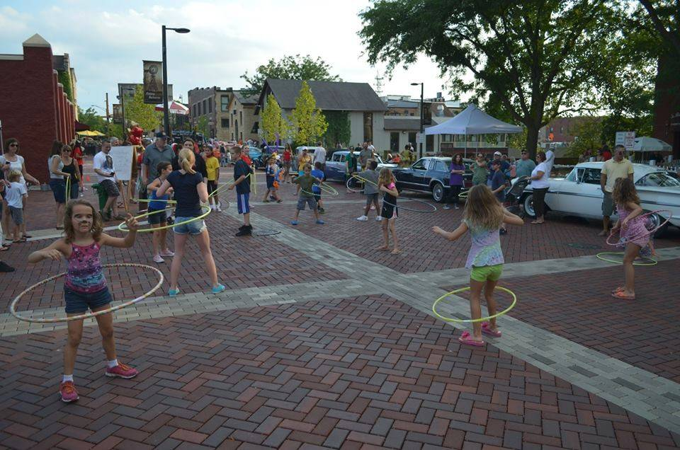 The Hula-Hoop contest was a highlight of last year's Block Party Taste of Batavia.
