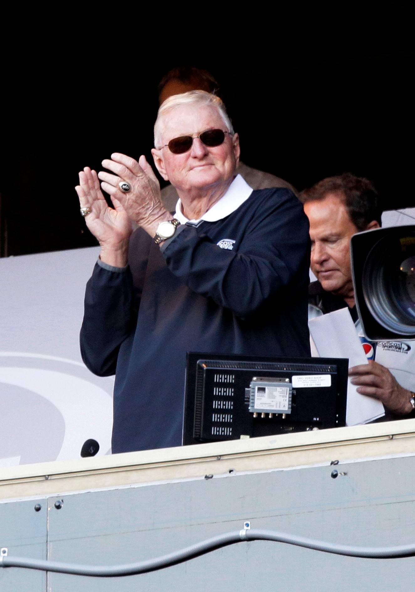 Ken Harrelson doesn't sound like he's ready to retire anytime soon, but maybe he won't go on the road so much.