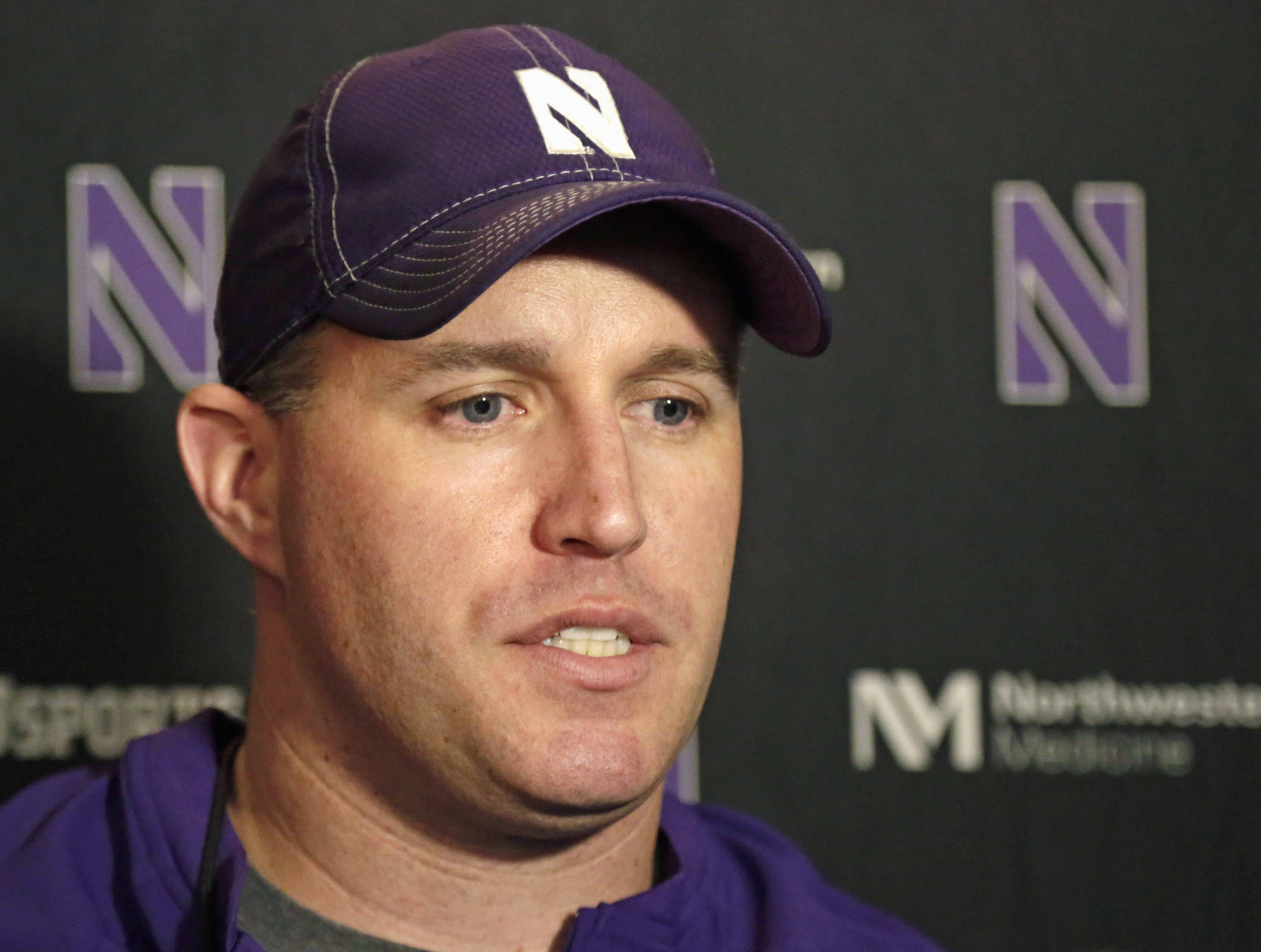 Northwestern and head coach Pat Fitzgerald finished 5-7 last season and hope to get off to a good start at home Saturday against California.