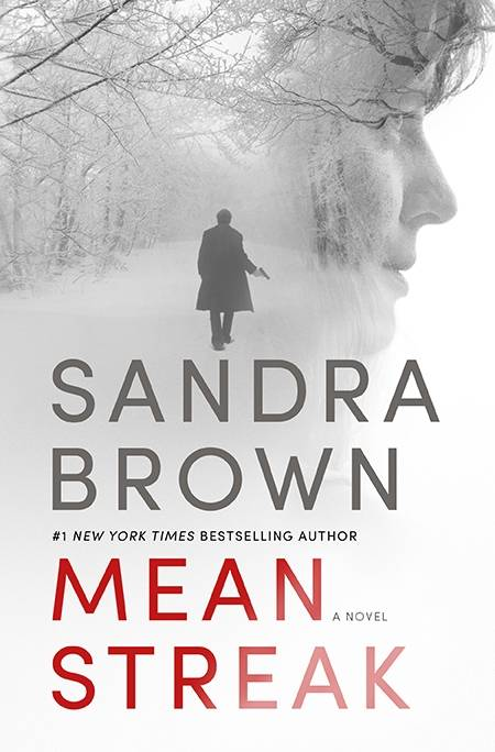 "In the romantic suspense novel ""Mean Streak"" by Sandra Brown, Dr. Emory Charbonneau, a pediatrician and marathon runner, finds herself trapped in an isolated cabin with a man hiding from the world."