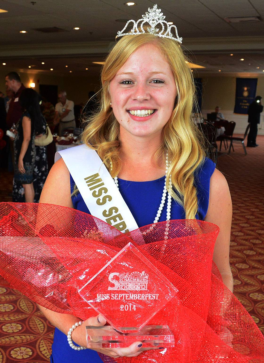 Carly Bryeans, 17, of Conant High School is Schaumburg's Miss Septemberfest 2014.
