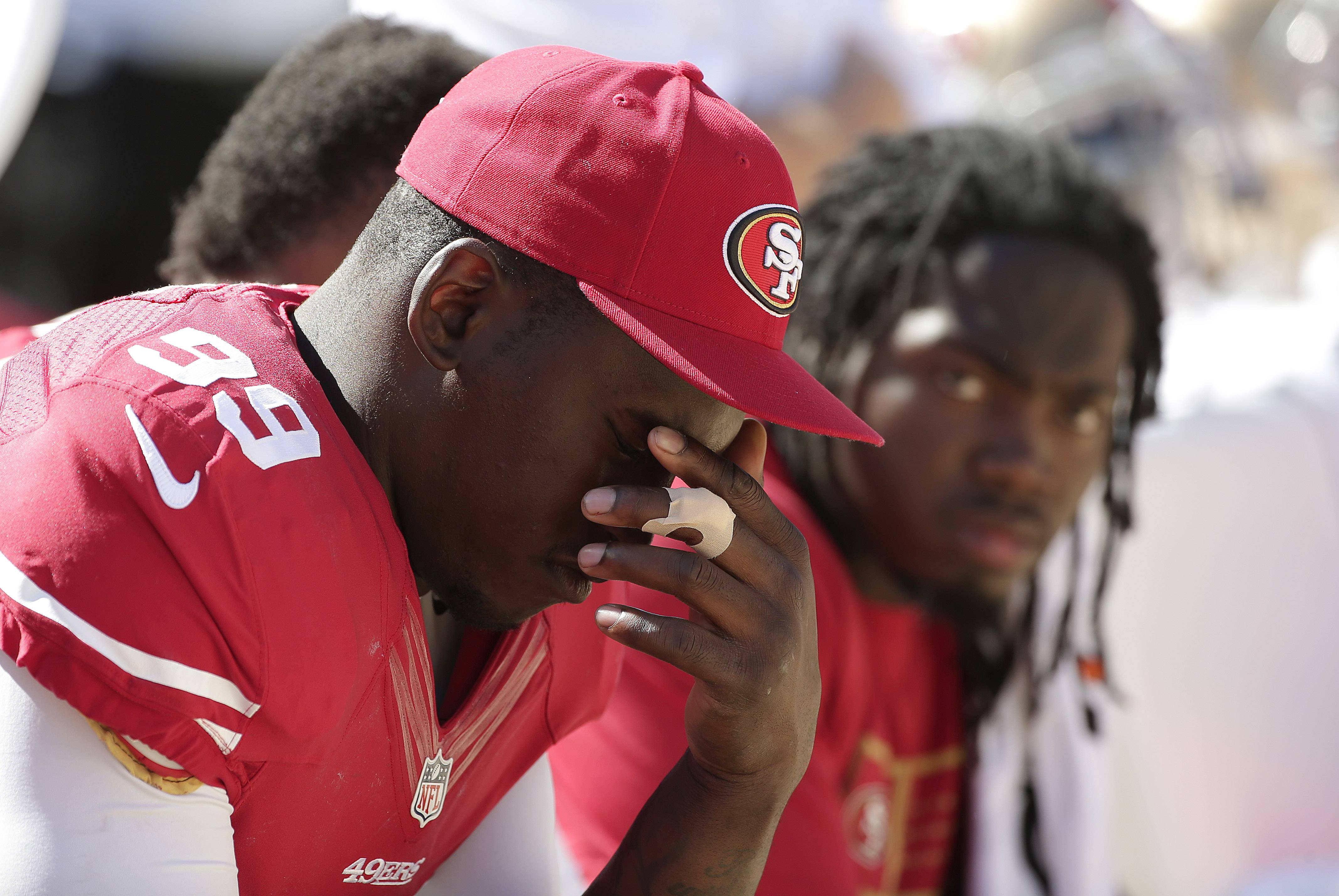 Aldon Smith has been suspended for nine games by the NFL after a series of off-field legal issues. A statement Frida from the league said Smith had violated the NFL's substance abuse and personal conduct policies.