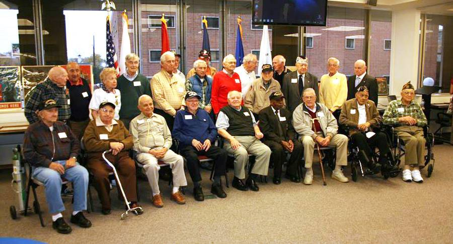 On Veterans Day, Tuesday, Nov. 11, war veterans are invited to come to the Lake County courthouse in Waukegan to have their oral histories recorded by official court reporters, who will produce transcripts of their interviews.