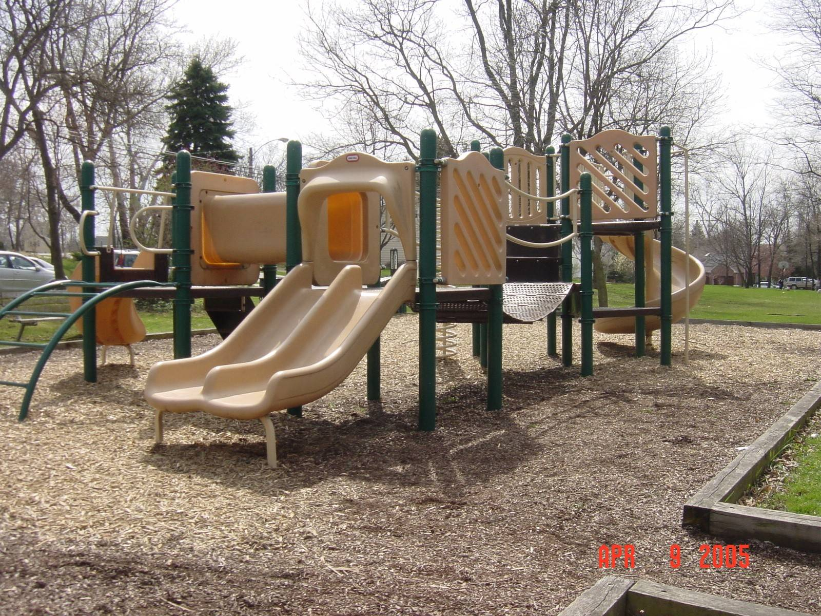 The playground equipment that recently was removed from Glen Ellyn's Danby Park was more than 20 years old, officials say. A nonprofit group will refurbish it and then give it to a place that otherwise might not have such equipment.