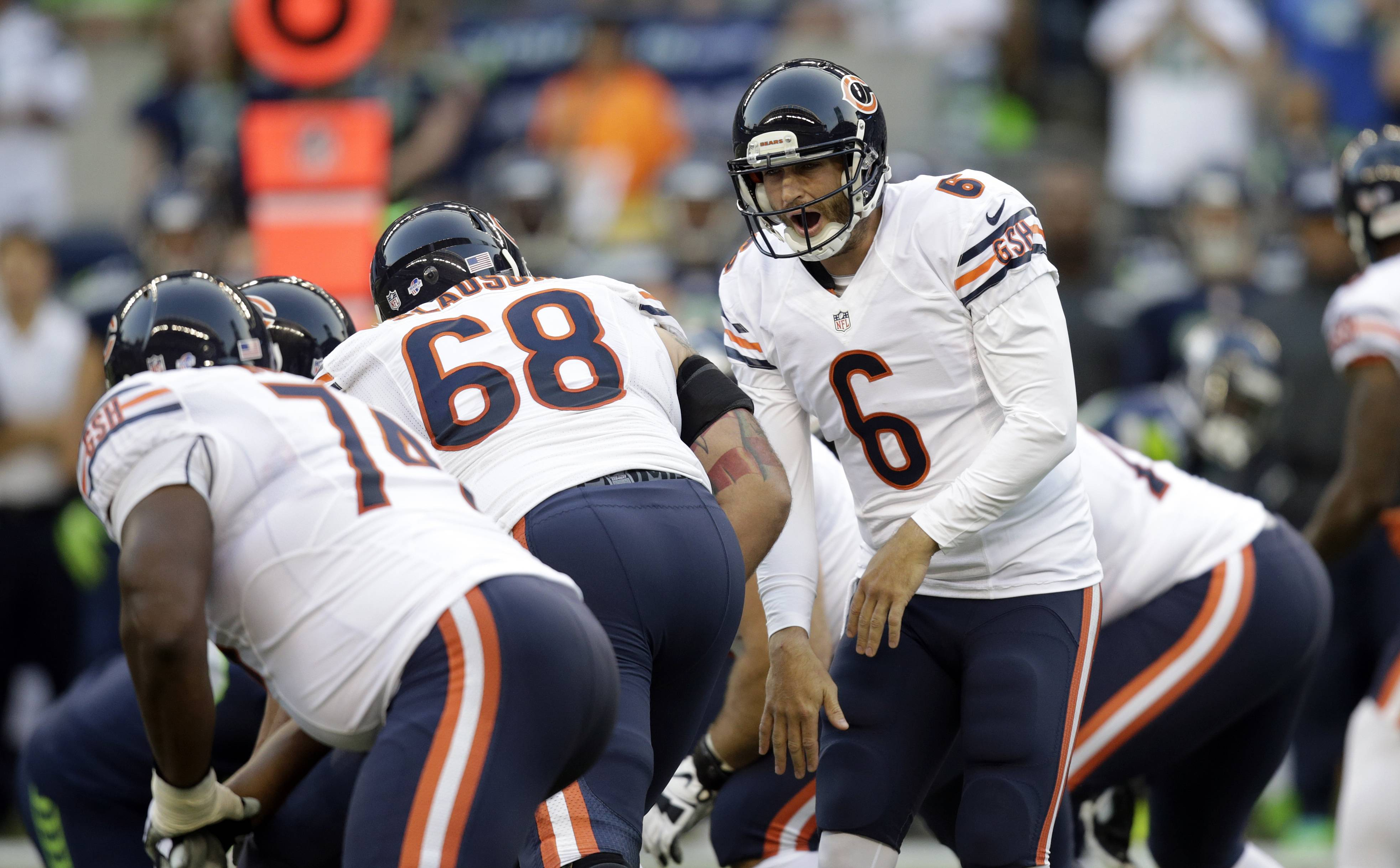Bears quarterback Jay Cutler yells to teammates at the line of scrimmage. Since 2011, the billion-dollar fantasy market has been infused with dozens of daily and weekly games. Those games allow players to win huge prizes quickly, sometimes in one week, sometimes in just one night. With players betting thousands or even tens of thousands a night, legal experts believe it's time to review the section of the 2006 federal law that was written specifically to protect fantasy sports from being banned the way online poker was.